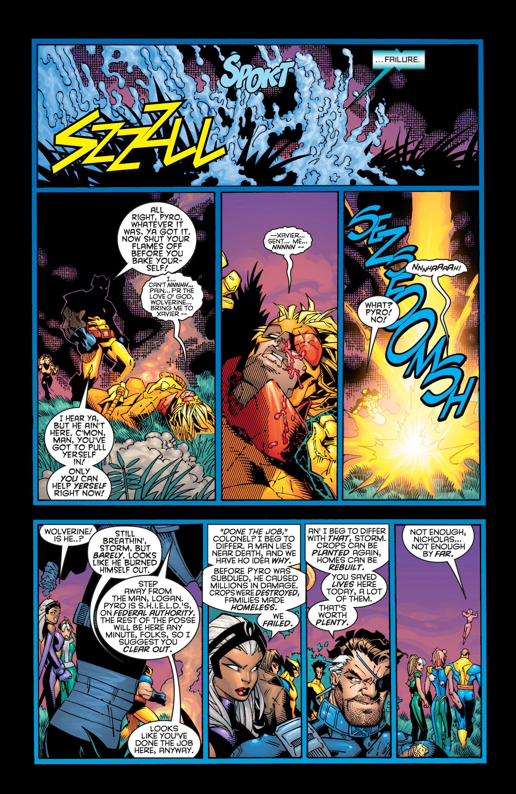 Read online Uncanny X-Men (1963) comic -  Issue #362 - 19