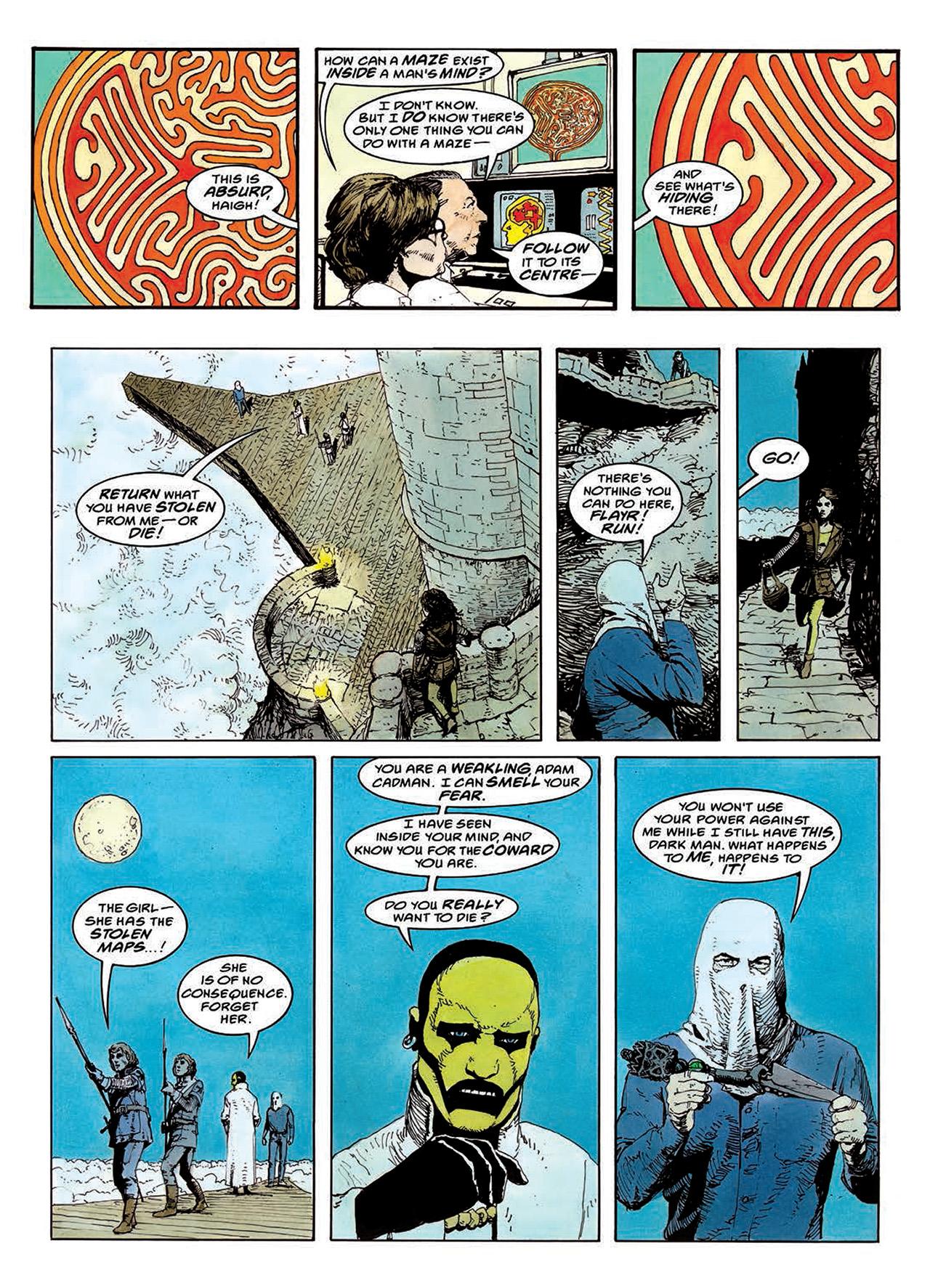 Read online Mazeworld comic -  Issue # TPB - 90