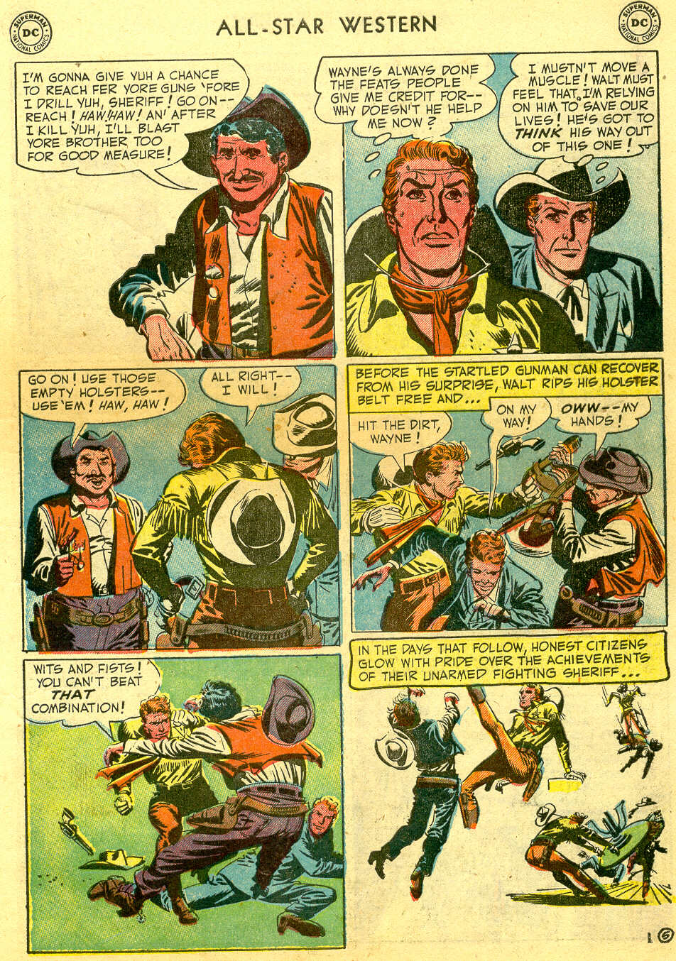 Read online All-Star Western (1951) comic -  Issue #64 - 7