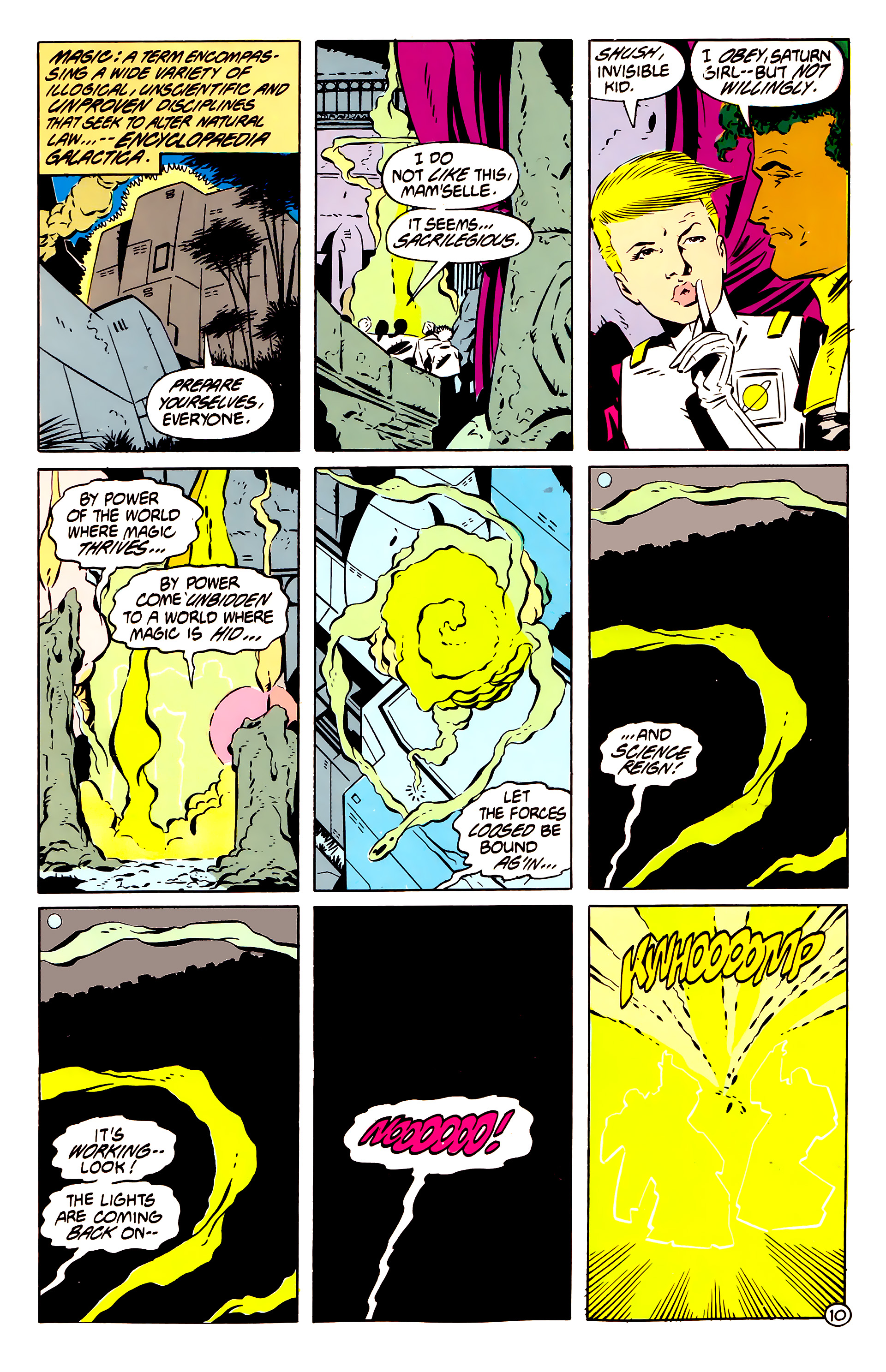 Legion of Super-Heroes (1984) 61 Page 10