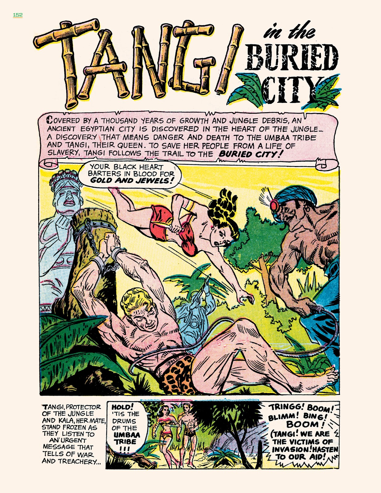 Read online Jungle Girls comic -  Issue # TPB (Part 2) - 52