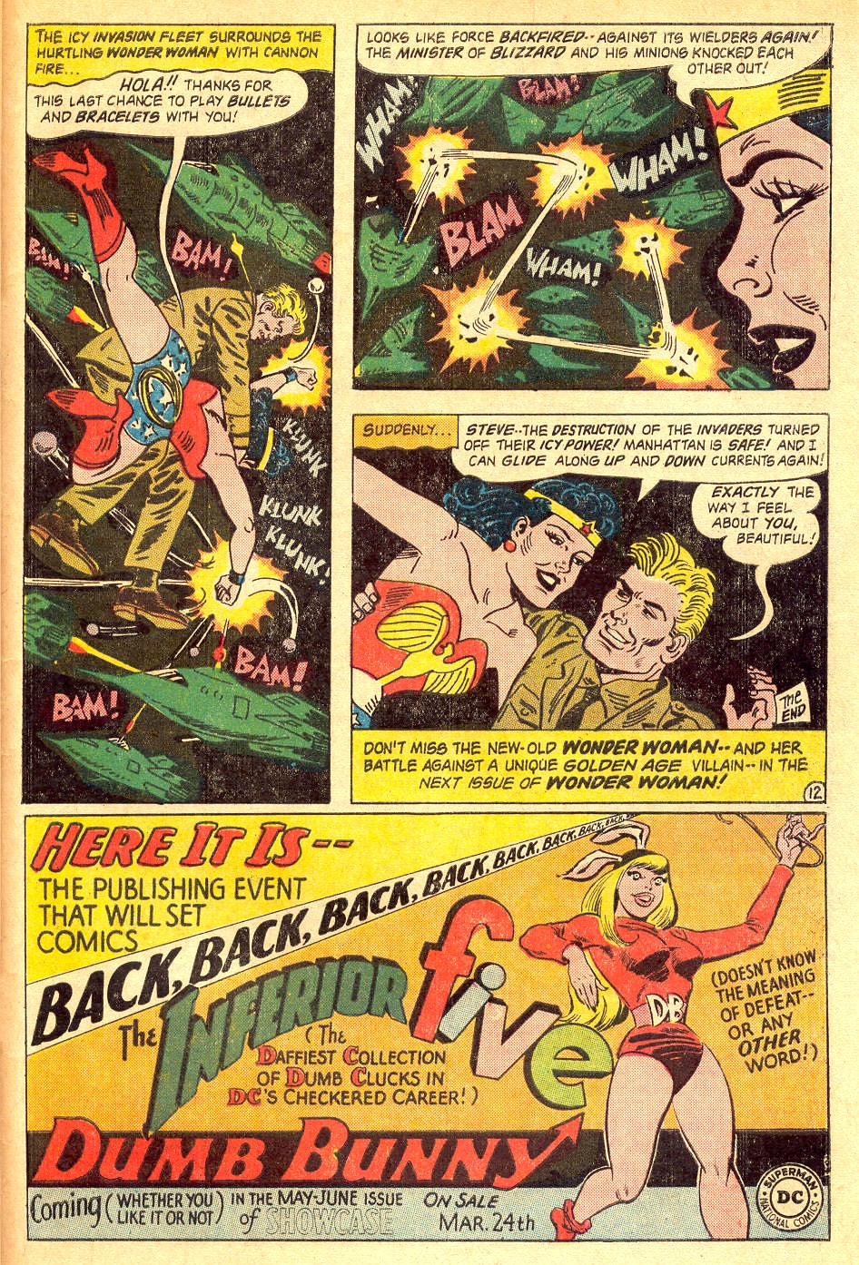 Read online Wonder Woman (1942) comic -  Issue #162 - 33