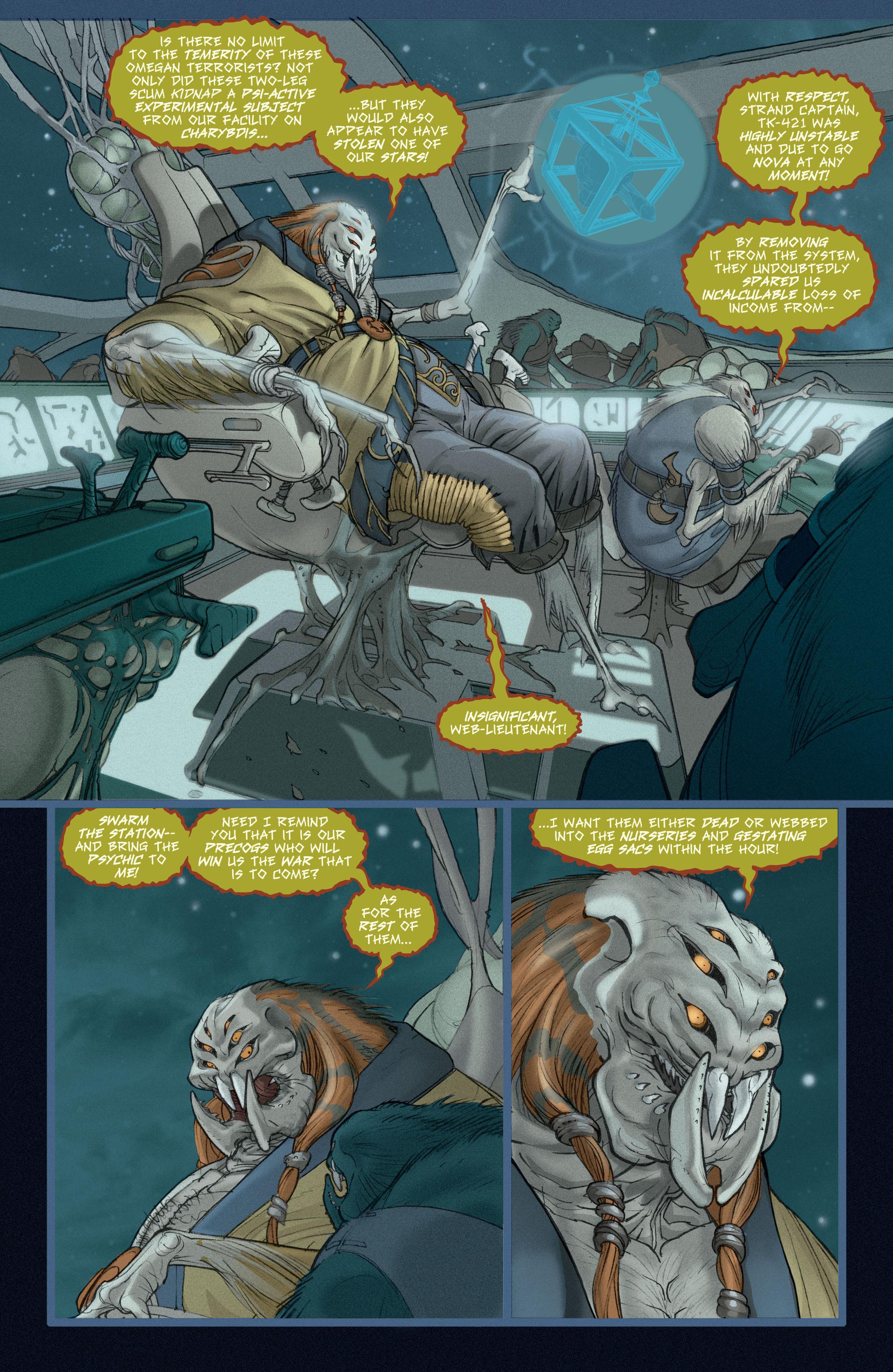 Read online Adam Strange (2004) comic -  Issue #5 - 6