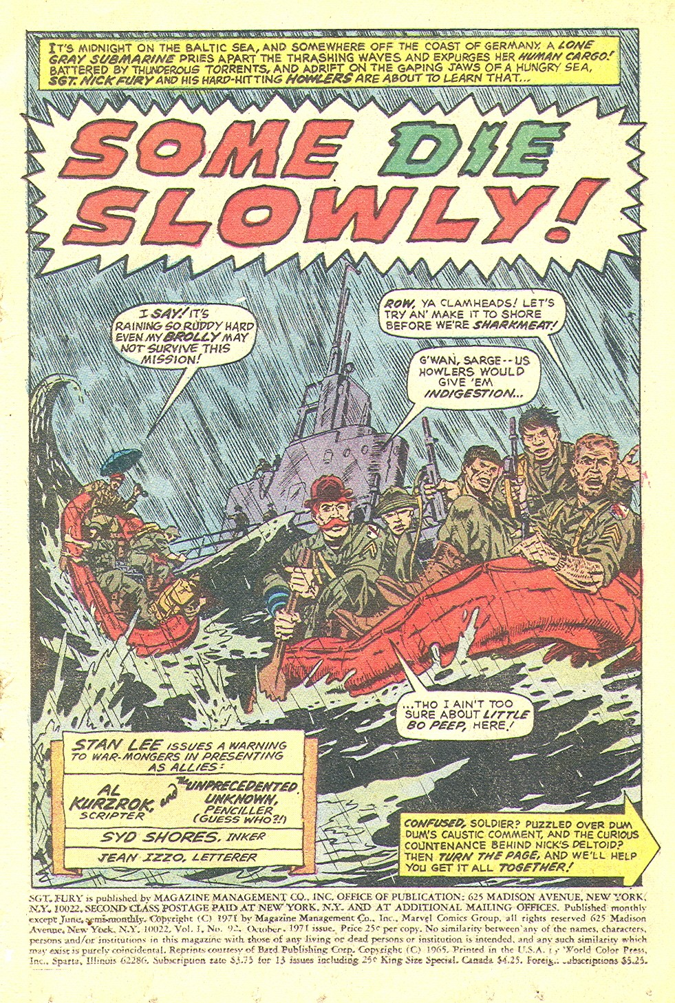 Read online Sgt. Fury comic -  Issue #92 - 3