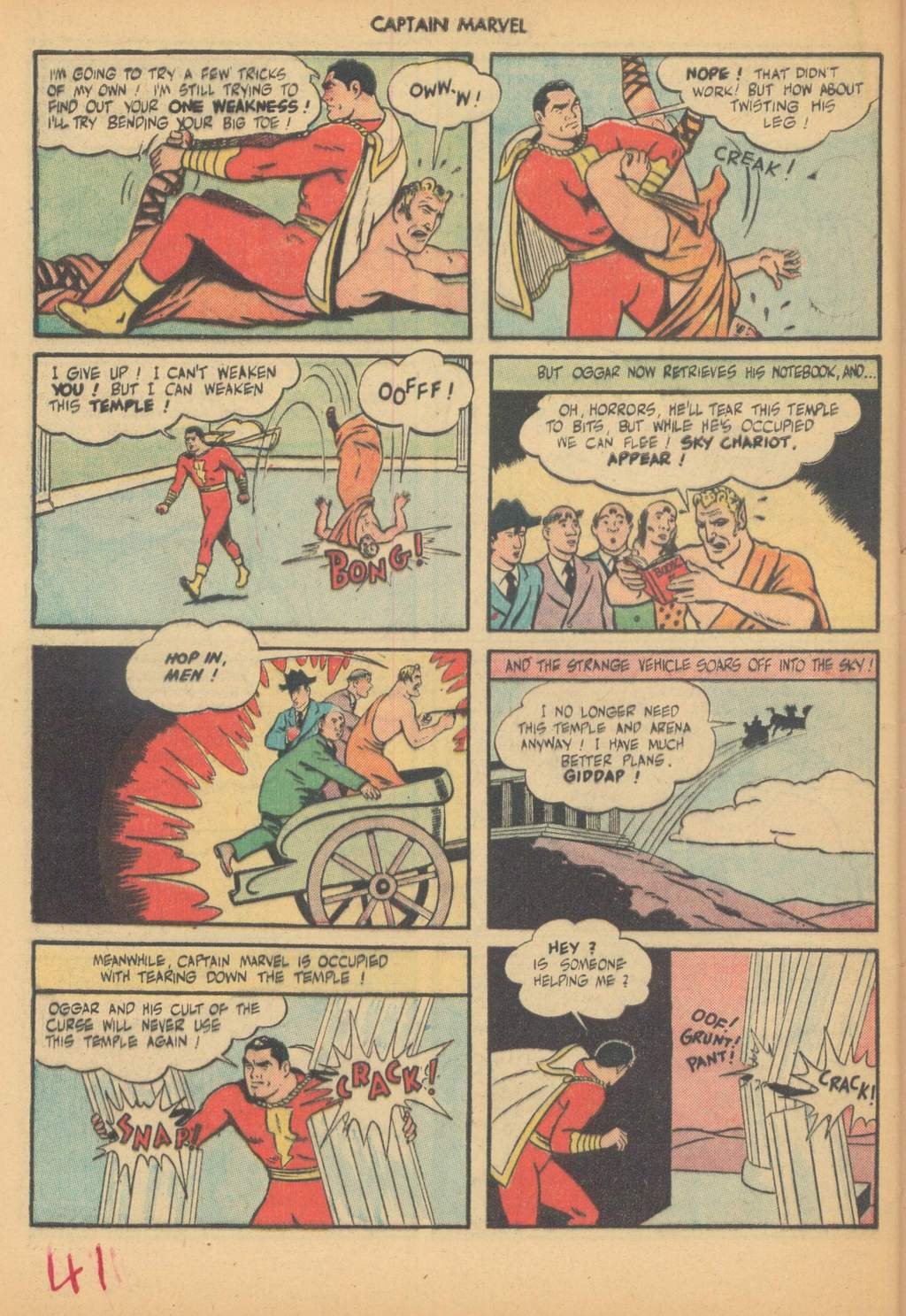 Captain Marvel Adventures issue 63 - Page 44
