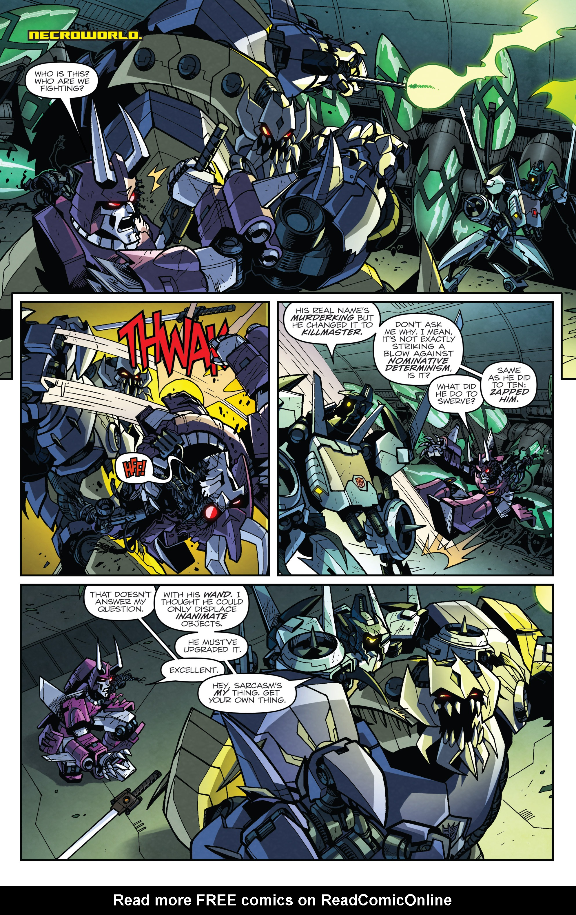 Read online Transformers: Lost Light comic -  Issue #4 - 5