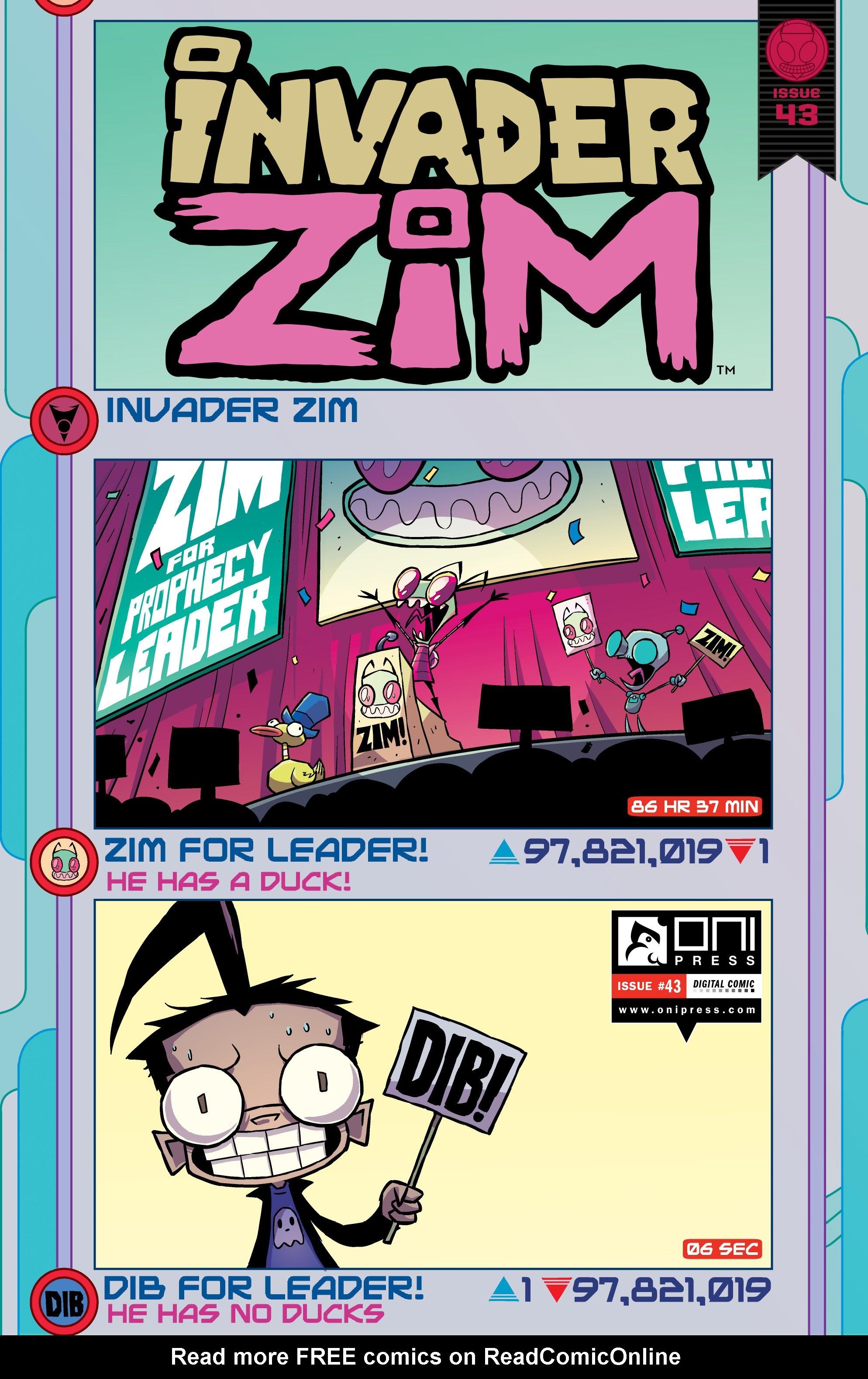 Invader Zim 43 Page 1