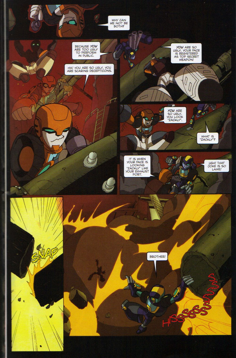 Read online Transformers Animated: The Arrival comic -  Issue #6 - 7