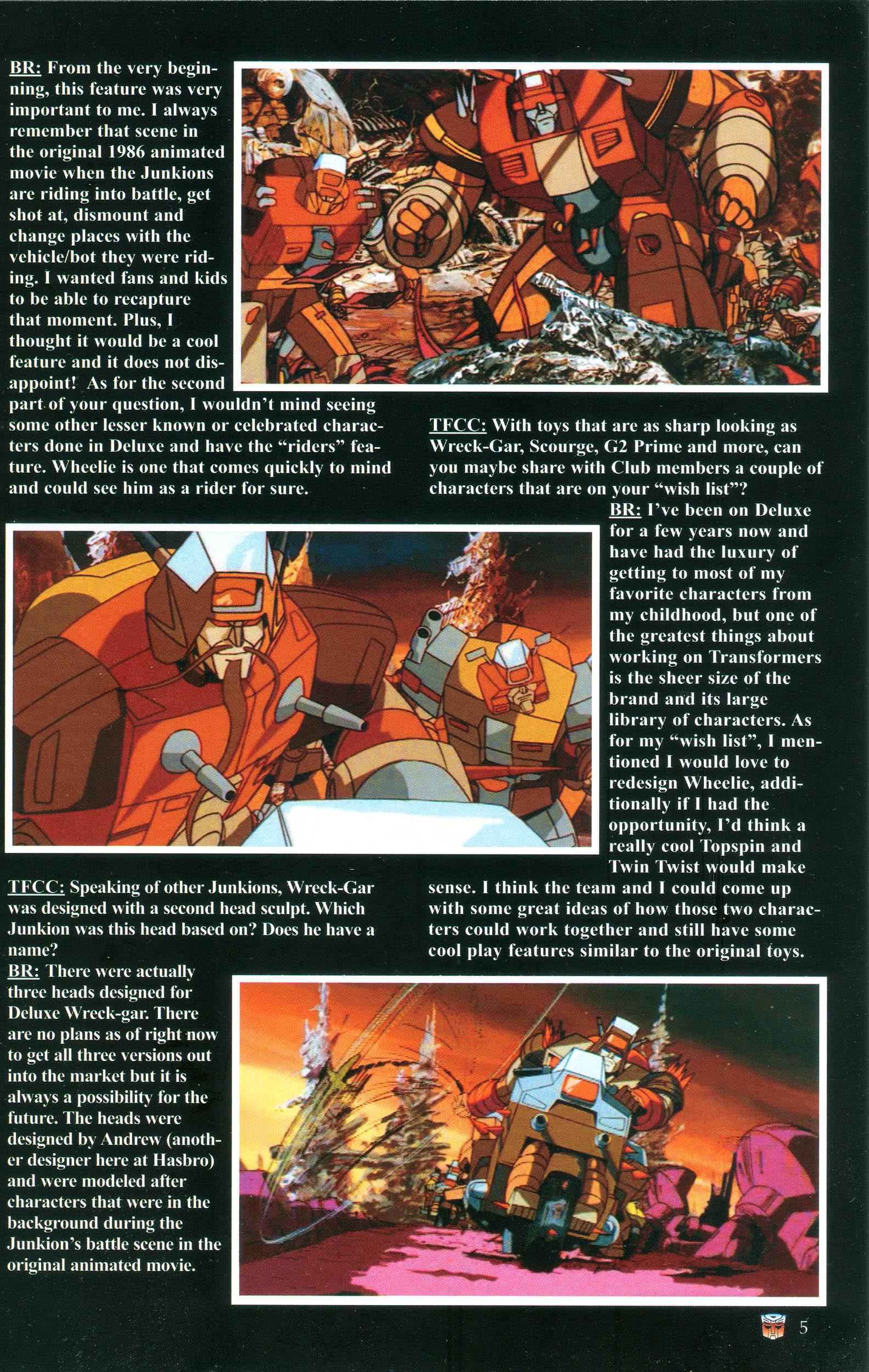 Read online Transformers: Collectors' Club comic -  Issue #37 - 5