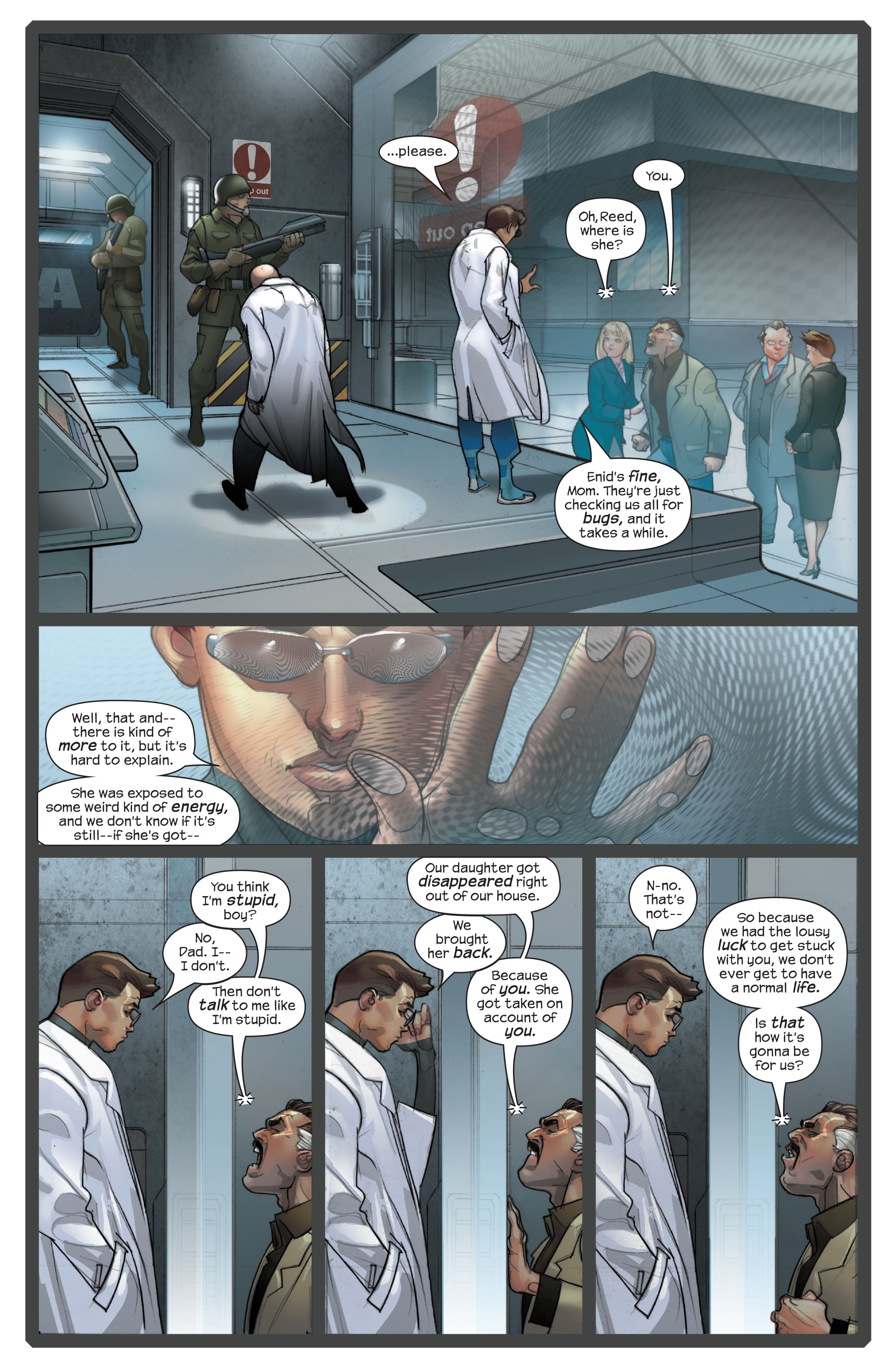 Read online Ultimate Fantastic Four (2004) comic -  Issue #42 - 4
