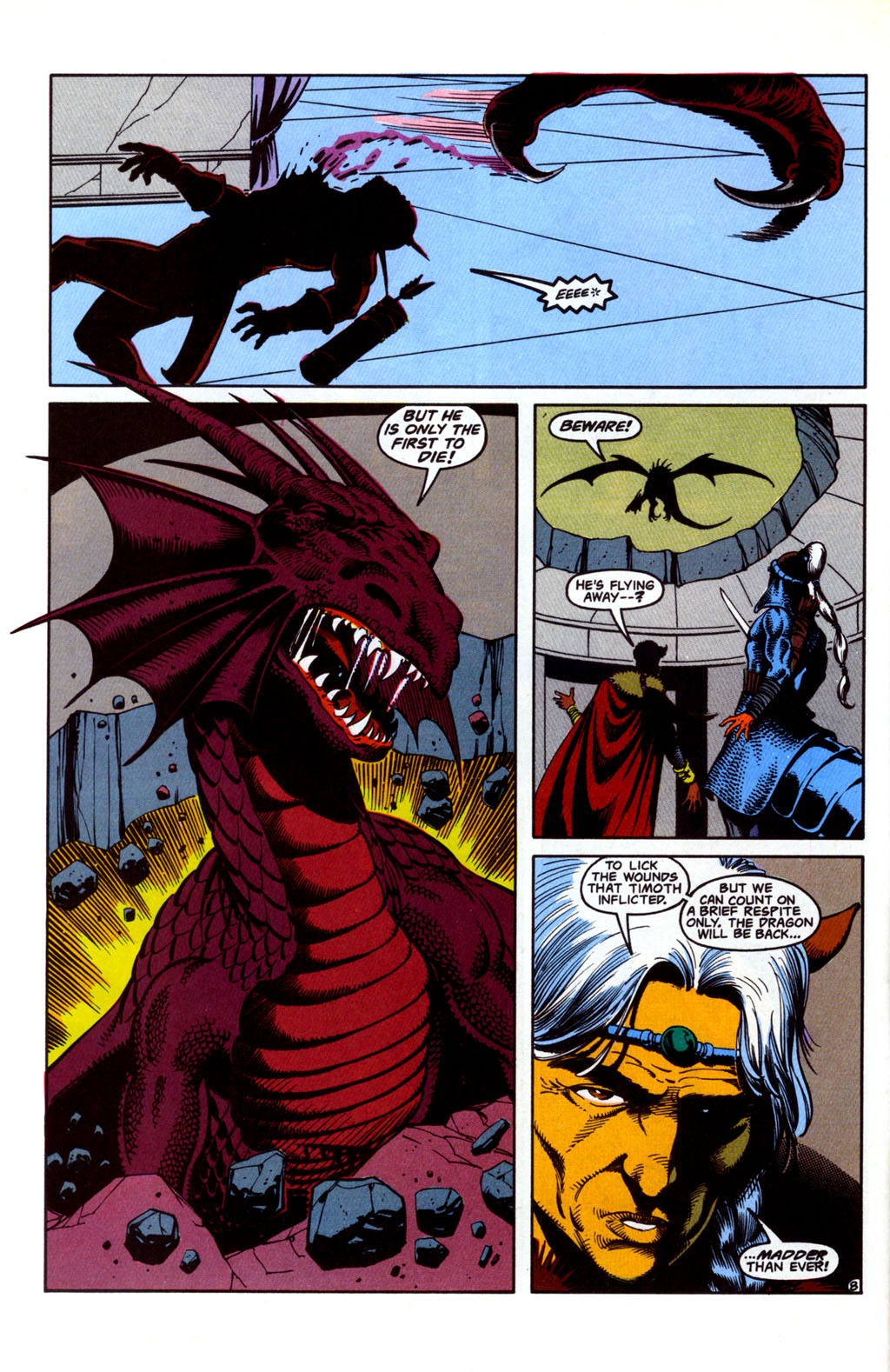 Read online Advanced Dungeons & Dragons comic -  Issue #26 - 8