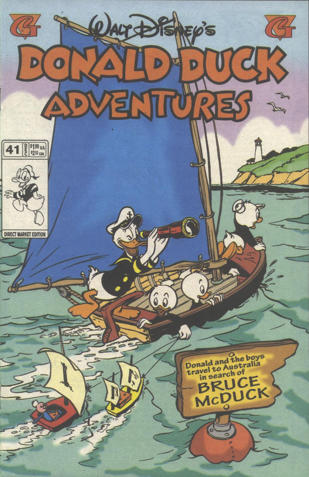 Walt Disney's Donald Duck Adventures (1987) issue 41 - Page 1
