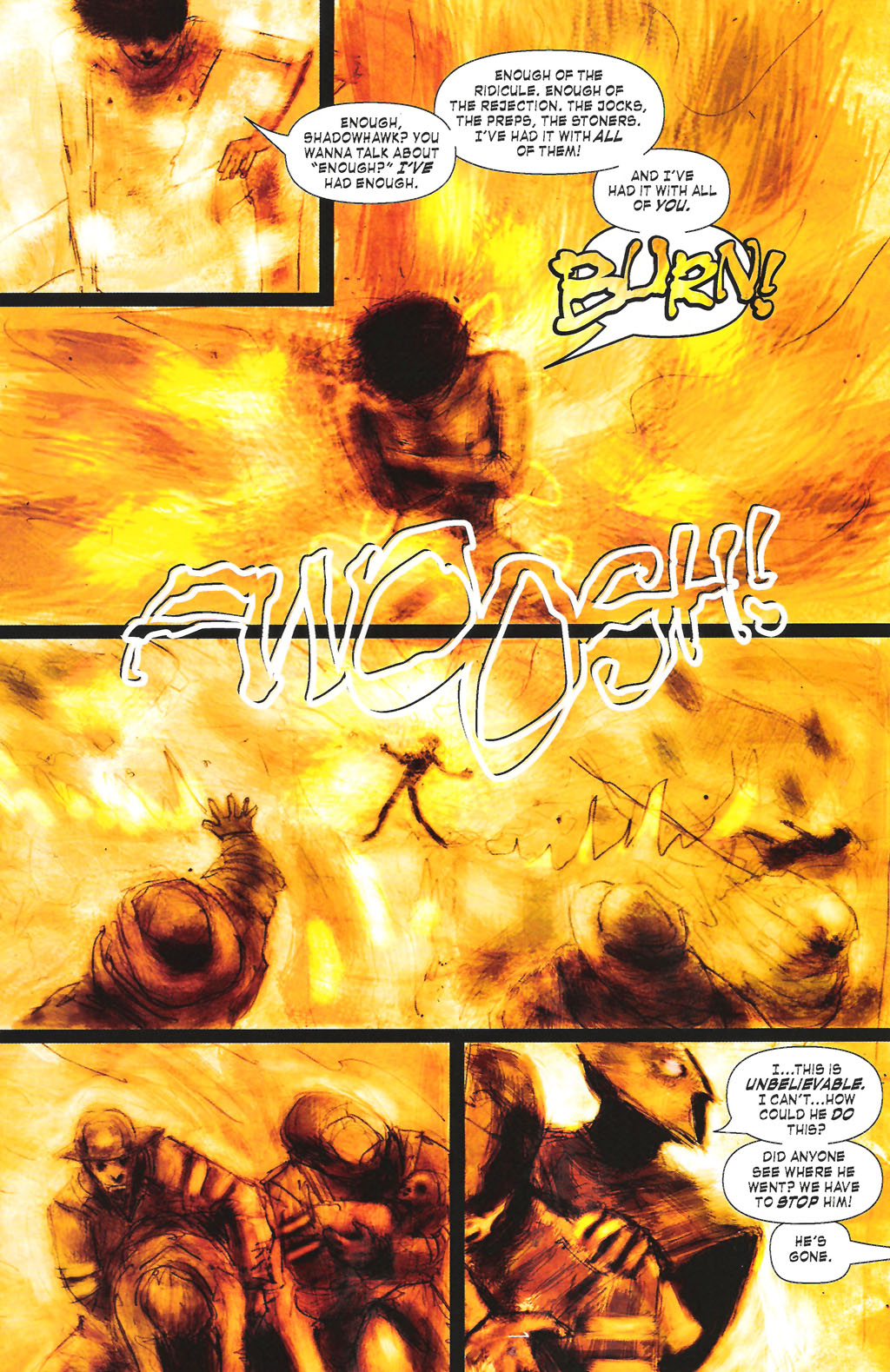 Read online ShadowHawk (2005) comic -  Issue #7 - 20