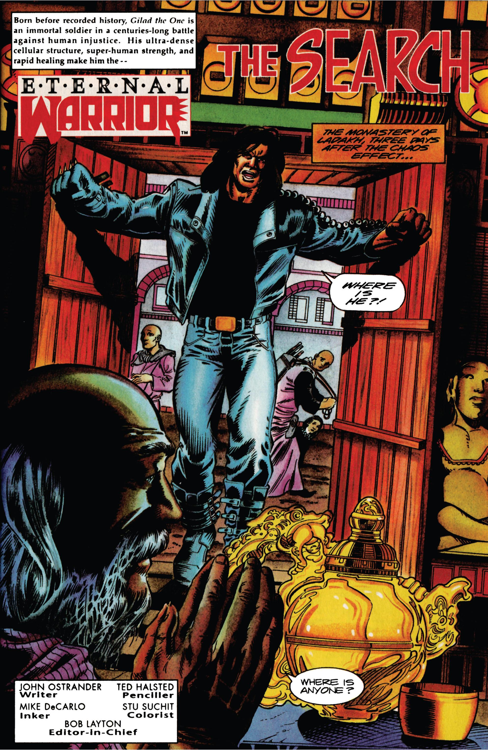 Read online Eternal Warrior (1992) comic -  Issue #27 - 6