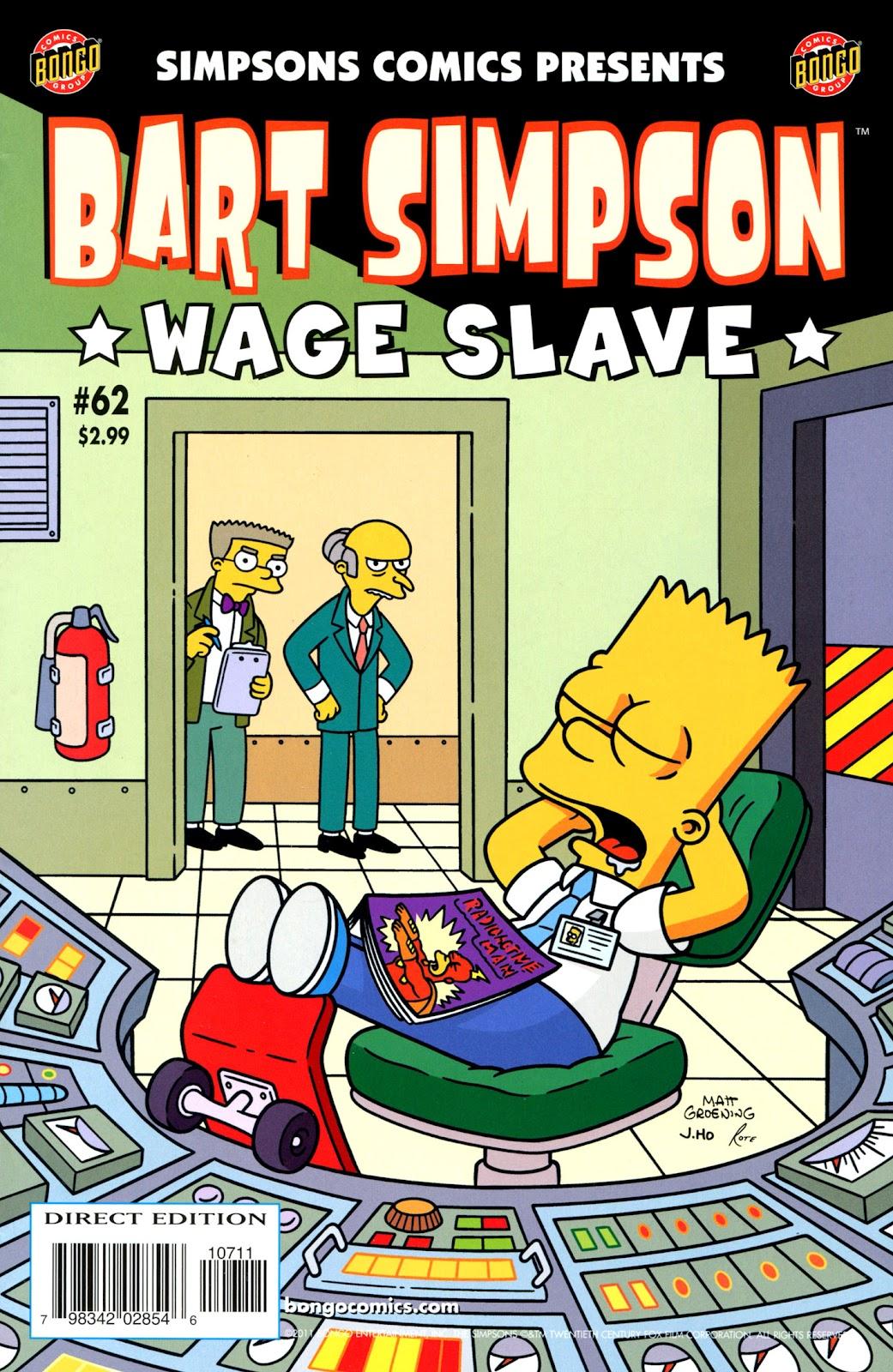 Simpsons Comics Presents Bart Simpson 62 Page 1
