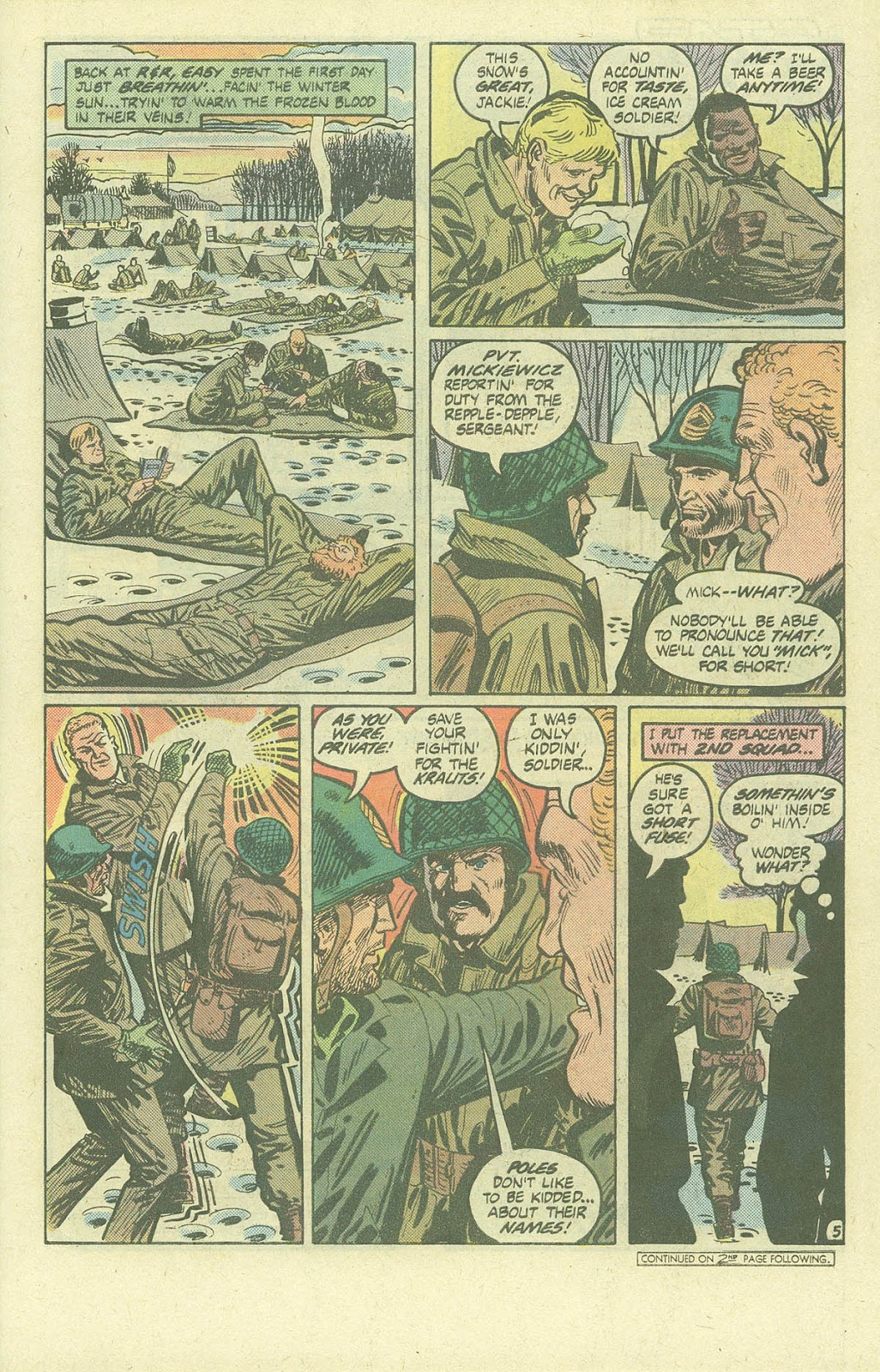 Sgt. Rock issue Annual 3 - Page 6