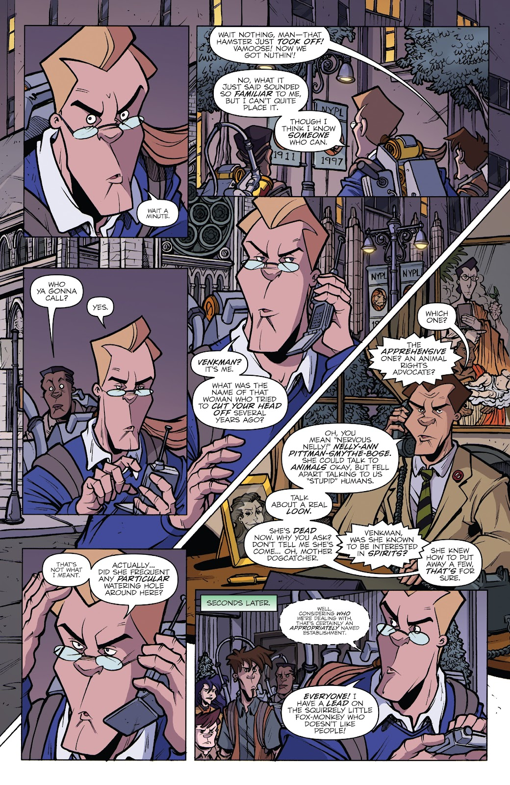 Read online Ghostbusters 35th Anniversary: Extreme comic -  Issue # Full - 14