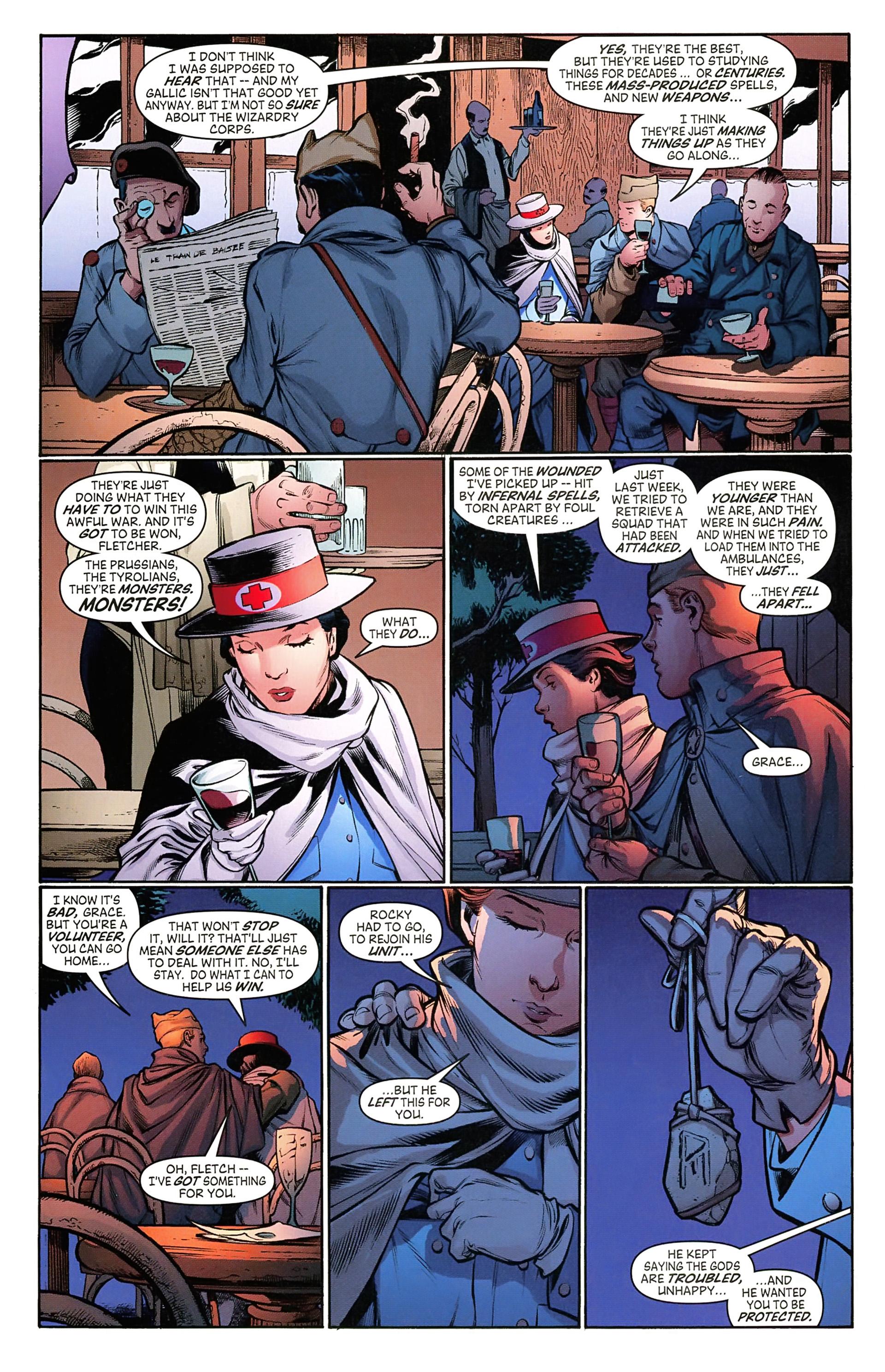 Read online Arrowsmith comic -  Issue #5 - 8