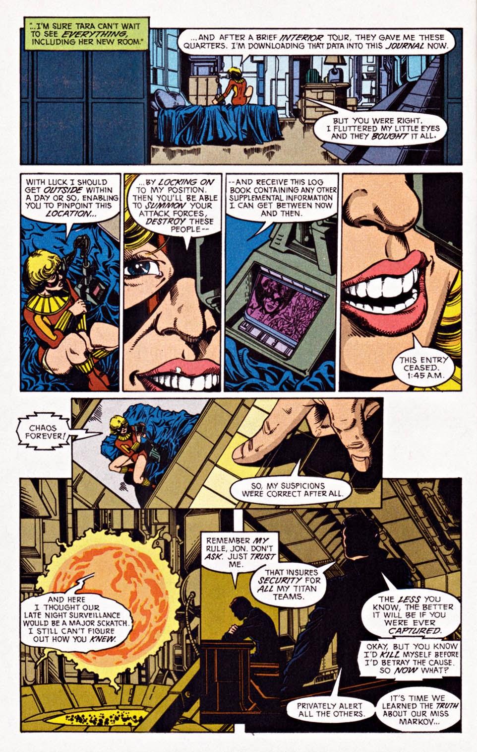 Read online Team Titans comic -  Issue #1e - 8