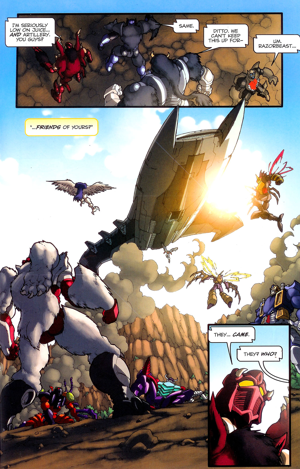 Read online Transformers: Beast Wars: The Ascending comic -  Issue #2 - 20