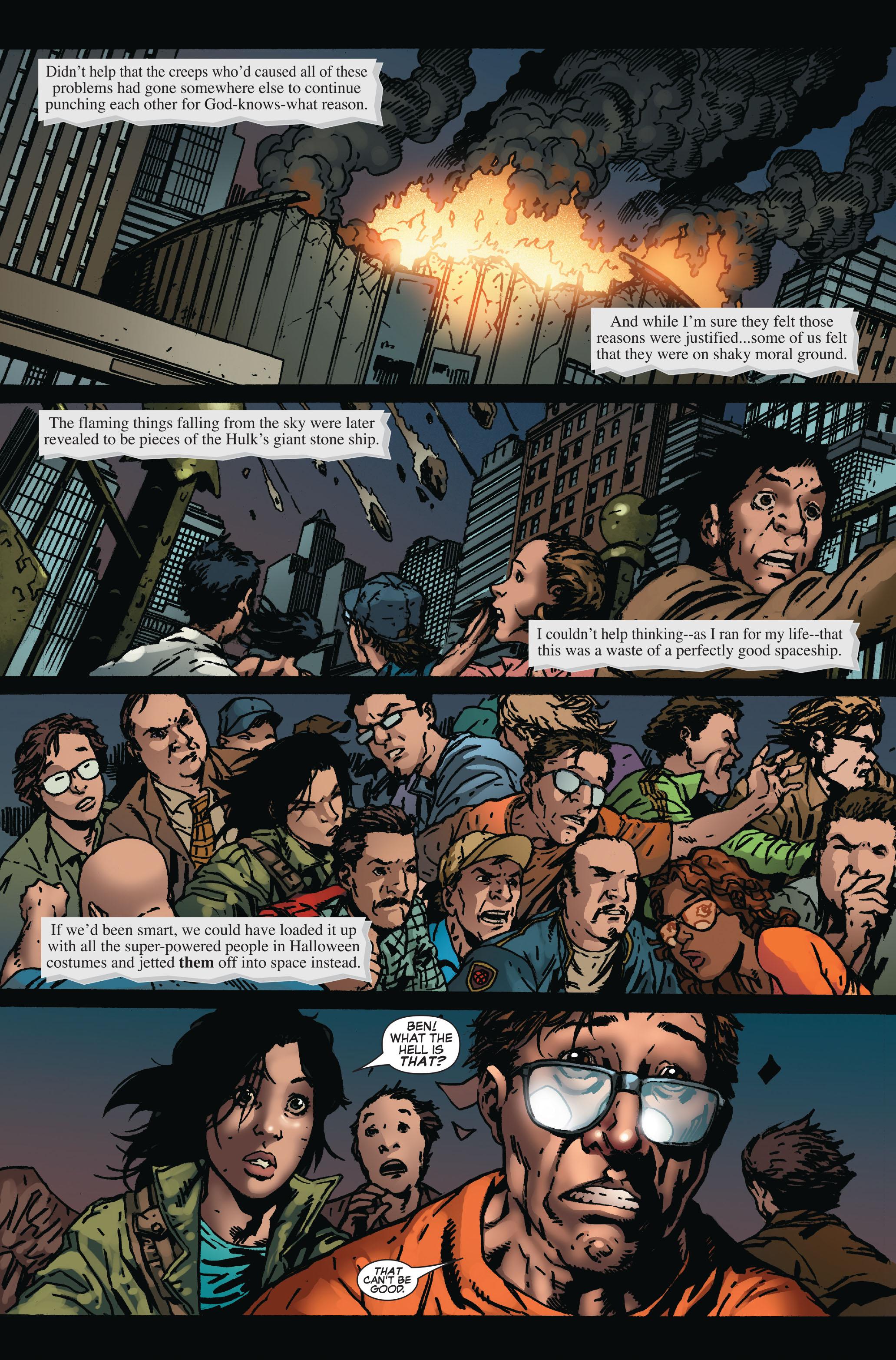 Read online World War Hulk: Front Line comic -  Issue #6 - 6