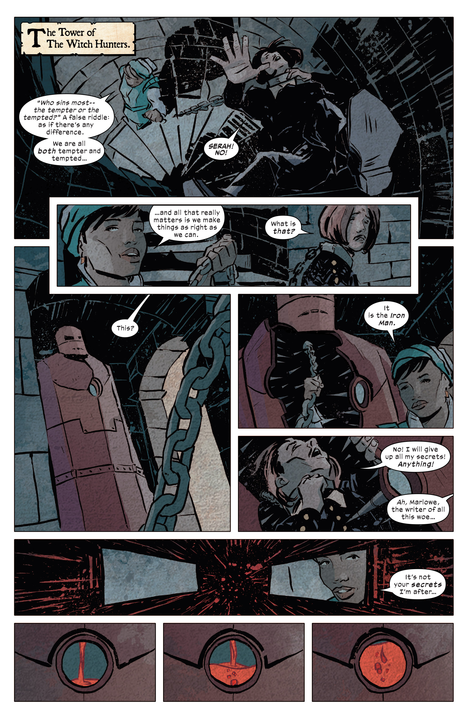 Read online 1602 Witch Hunter Angela comic -  Issue #4 - 17