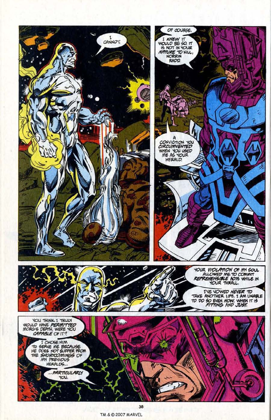 Read online Silver Surfer (1987) comic -  Issue # _Annual 7 - 40