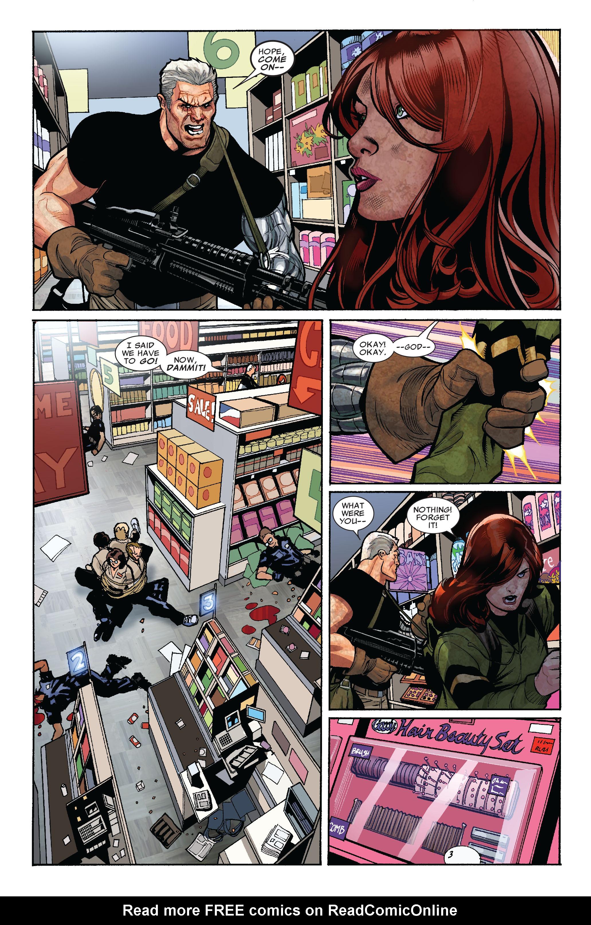 Read online Uncanny X-Men (1963) comic -  Issue #523 - 4