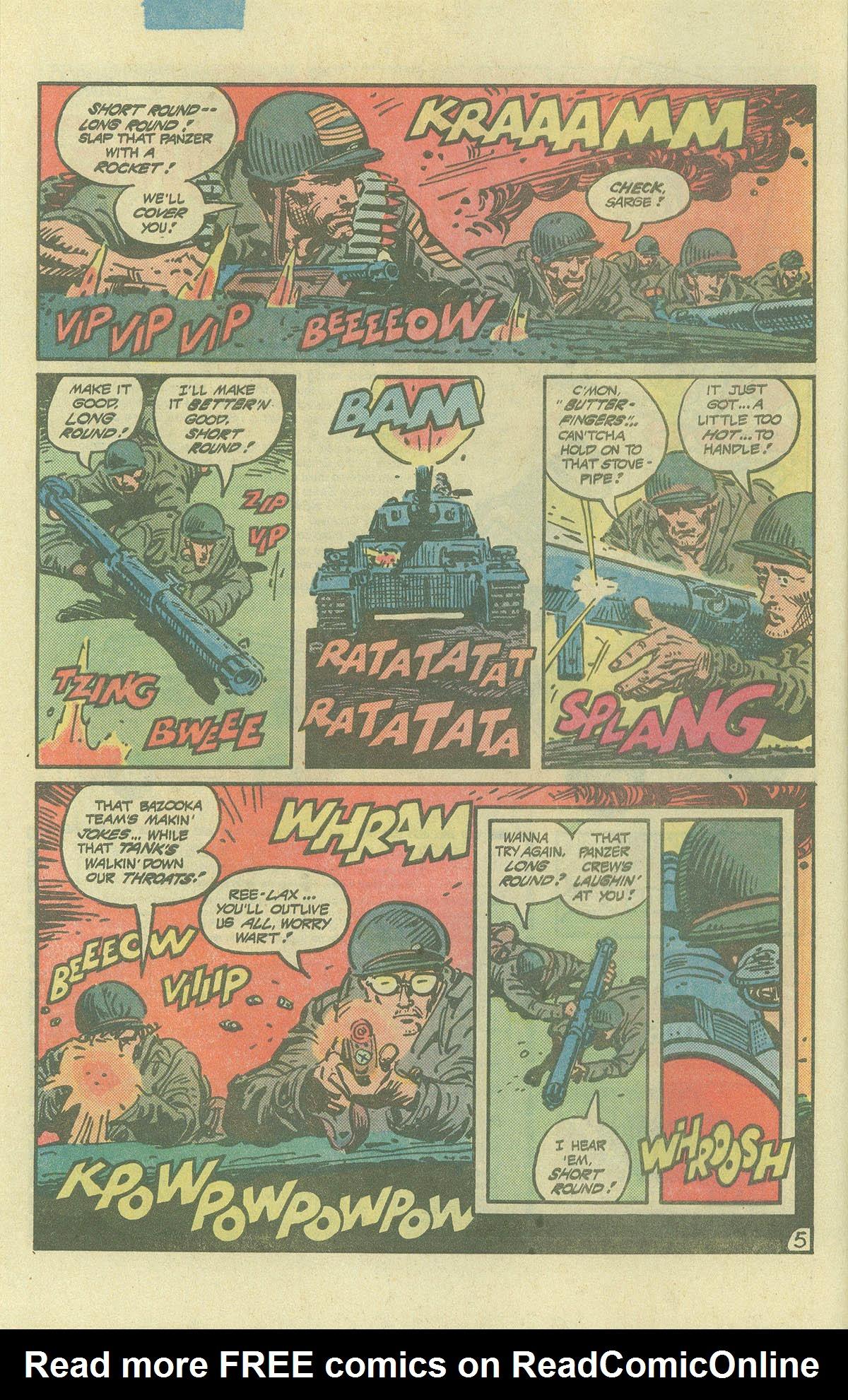 Read online Sgt. Rock comic -  Issue #393 - 5