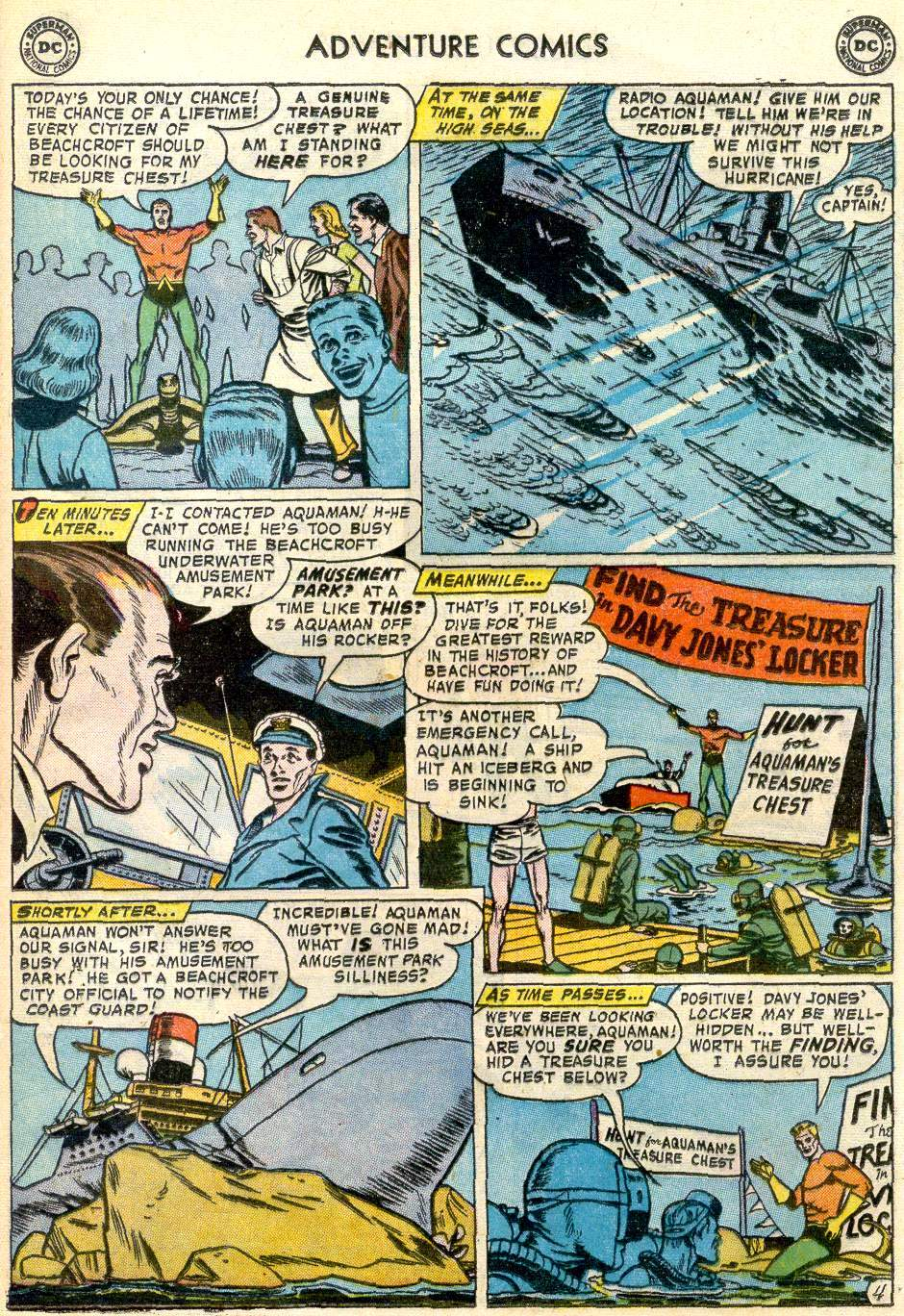 Read online Adventure Comics (1938) comic -  Issue #246 - 21