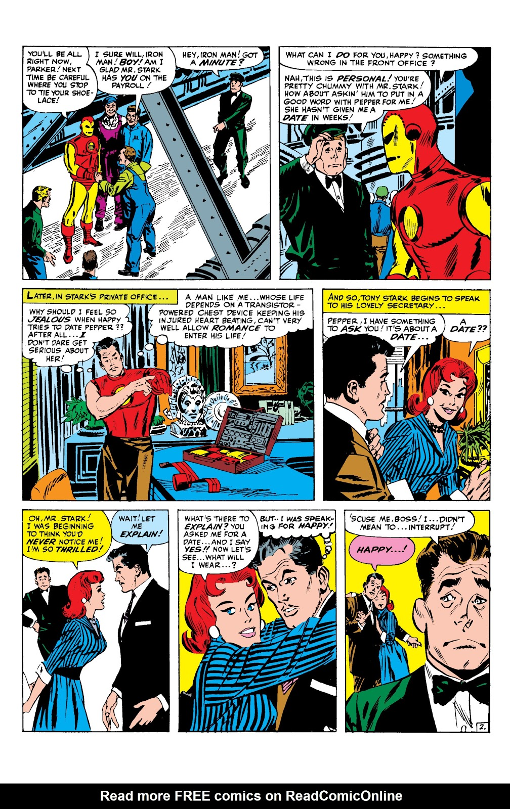 Read online Marvel Masterworks: The Invincible Iron Man comic -  Issue # TPB 2 (Part 2) - 3