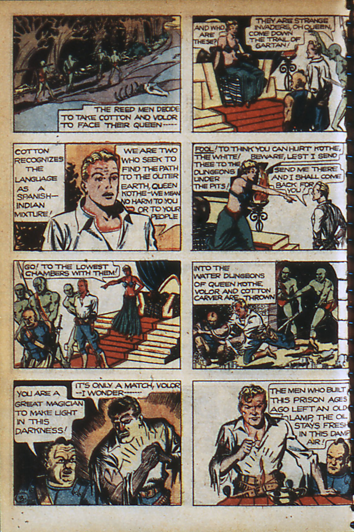 Read online Adventure Comics (1938) comic -  Issue #37 - 13