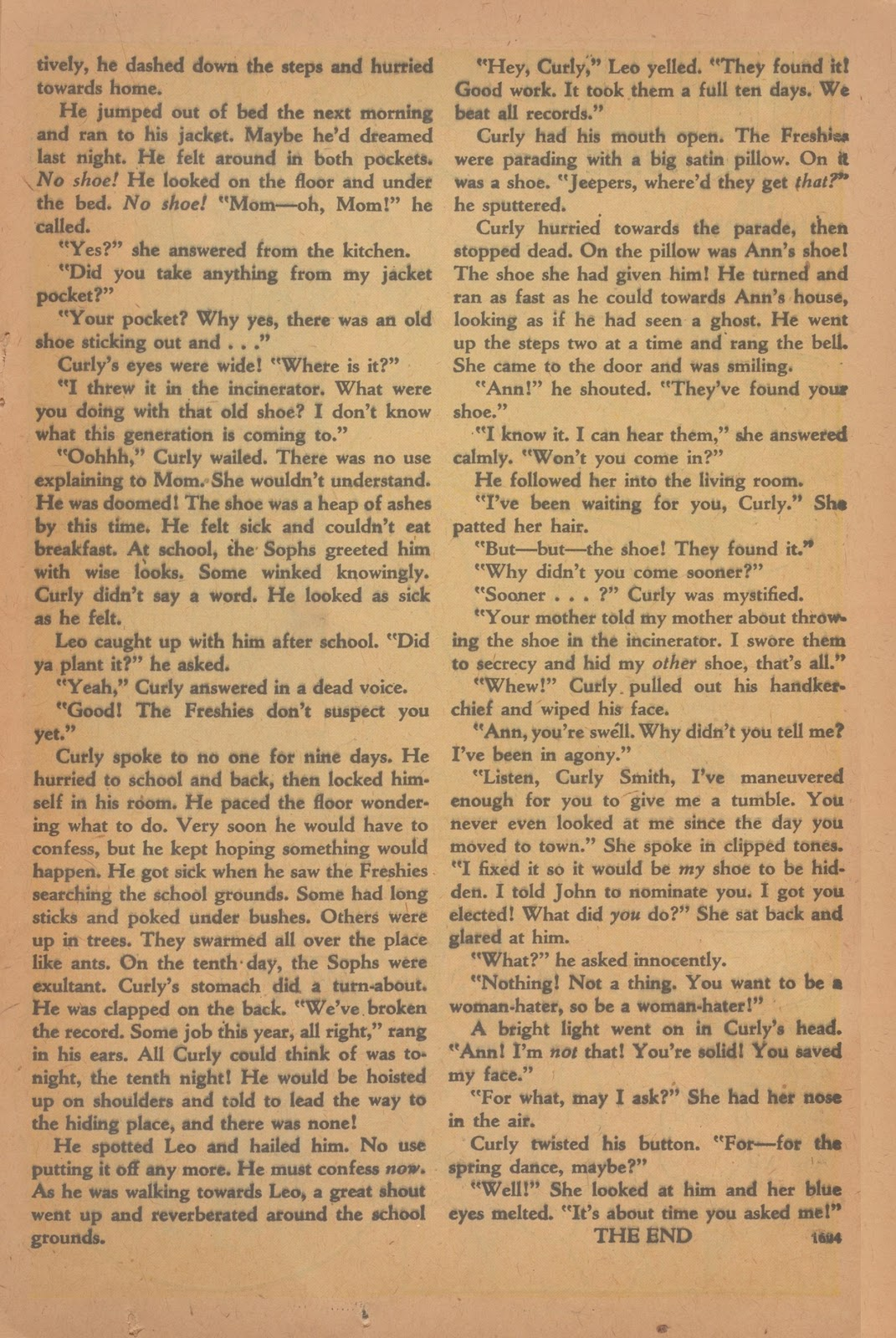Read online Nellie The Nurse (1945) comic -  Issue #9 - 25