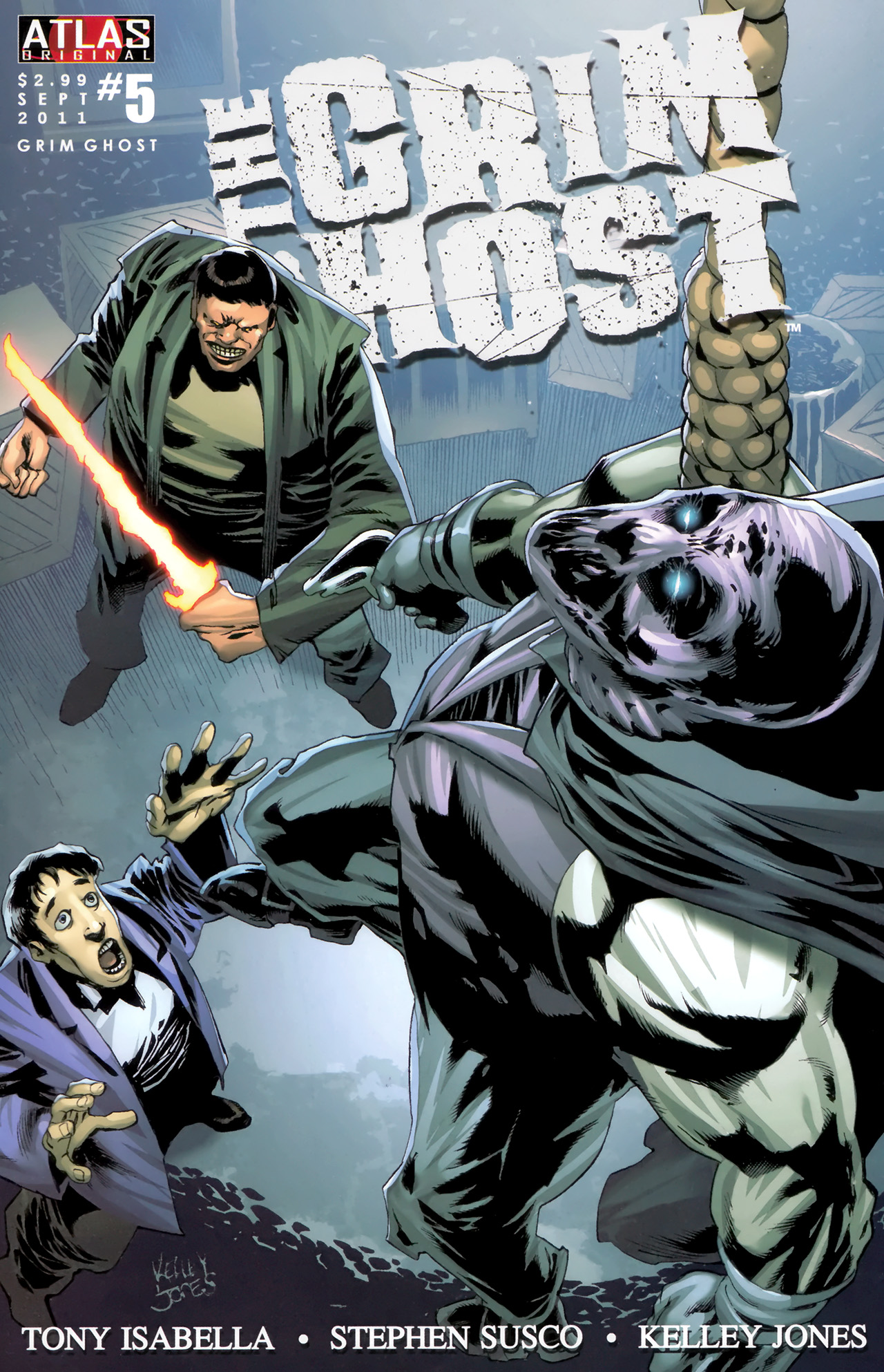 Read online The Grim Ghost comic -  Issue #5 - 1