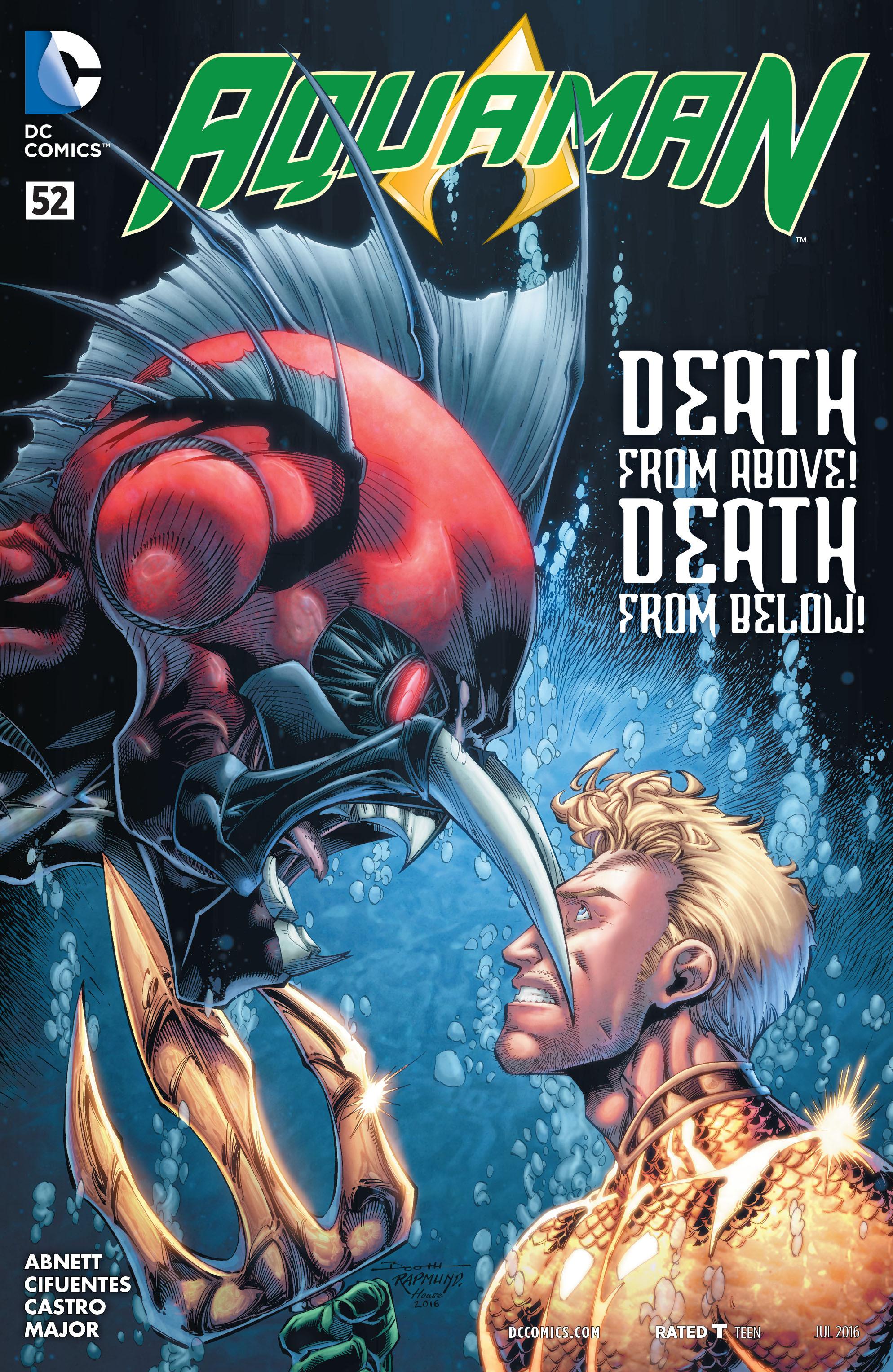 Read online Aquaman (2011) comic -  Issue #52 - 1