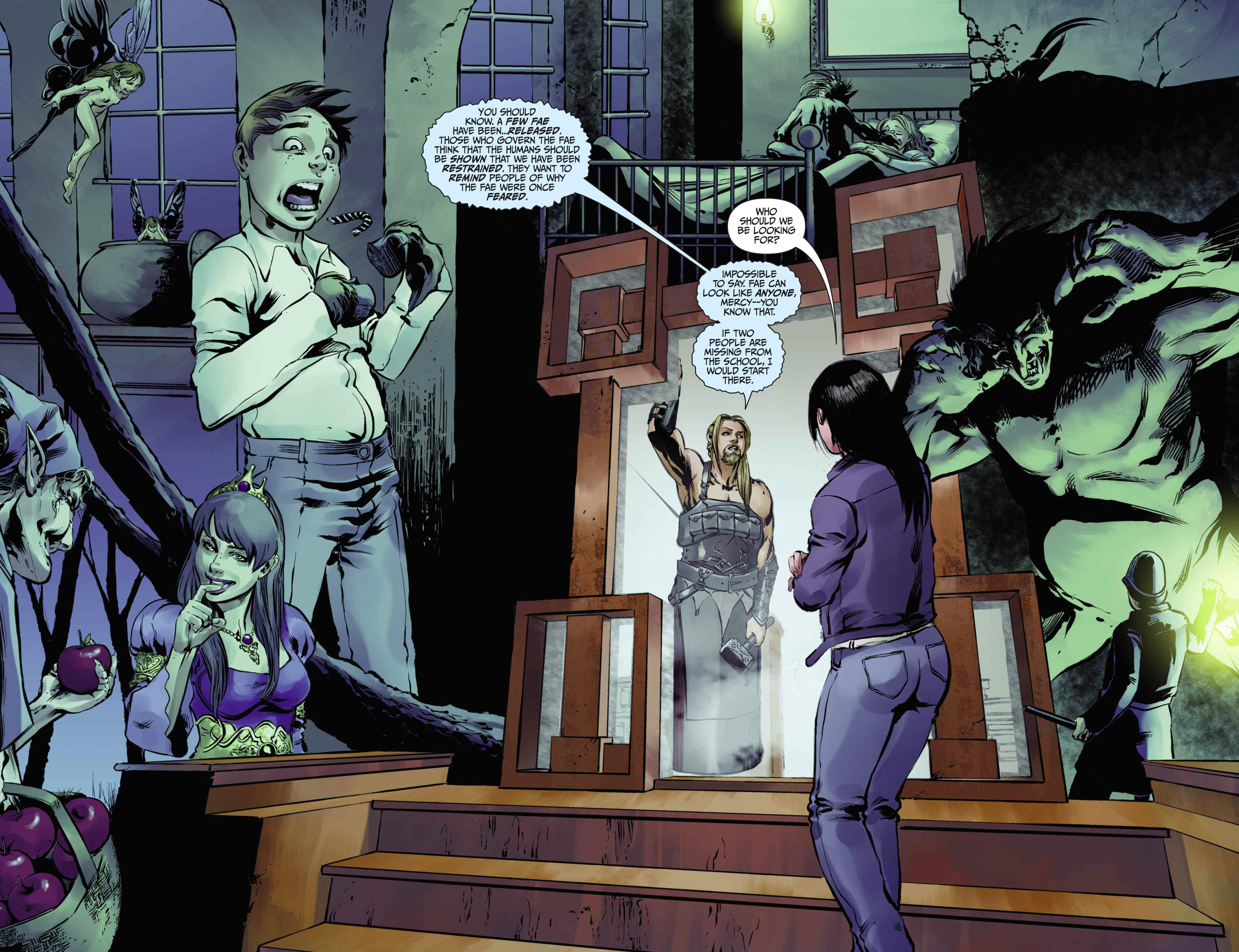 Read online Mercy Thompson comic -  Issue #5 - 14