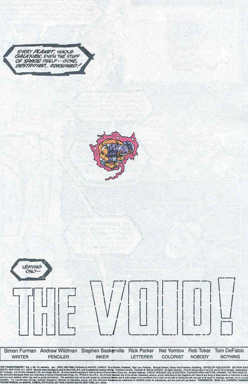 The Transformers (UK) 317 Page 2