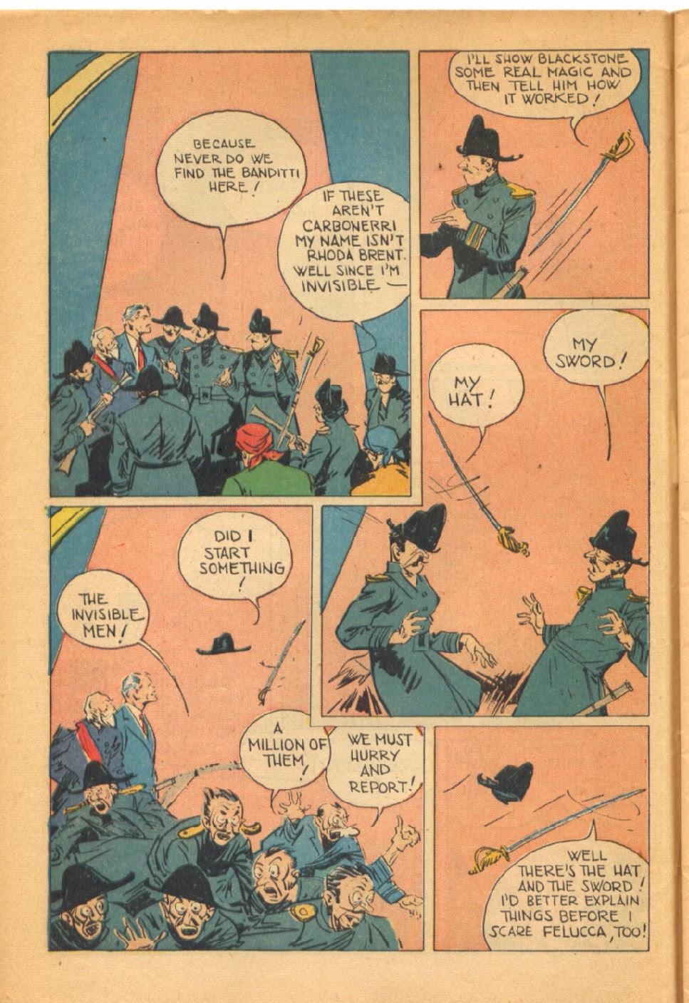 Read online Super-Magician Comics comic -  Issue #38 - 12