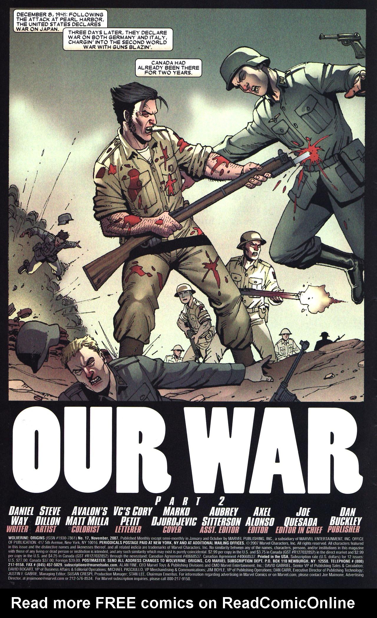 Read online Wolverine: Origins comic -  Issue #17 - 3