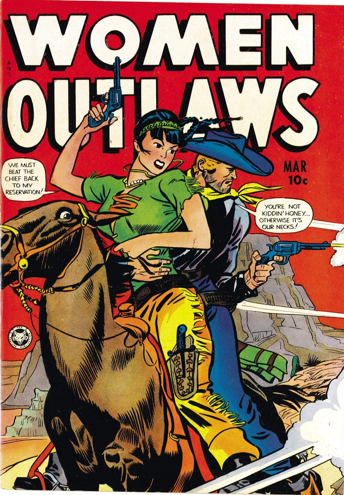 Read online Women Outlaws comic -  Issue #5 - 1