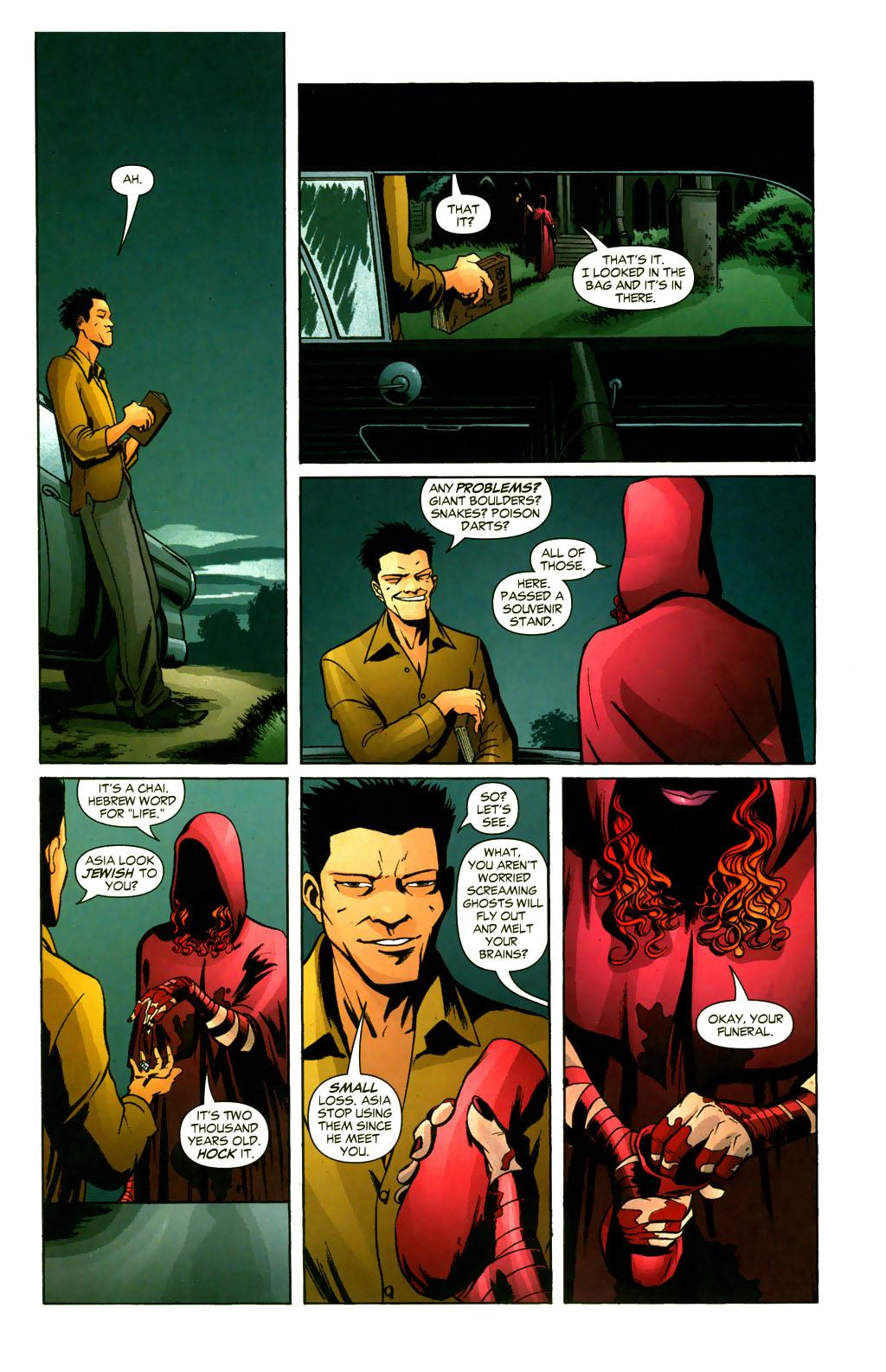 Read online Fallen Angel (2003) comic -  Issue #9 - 21
