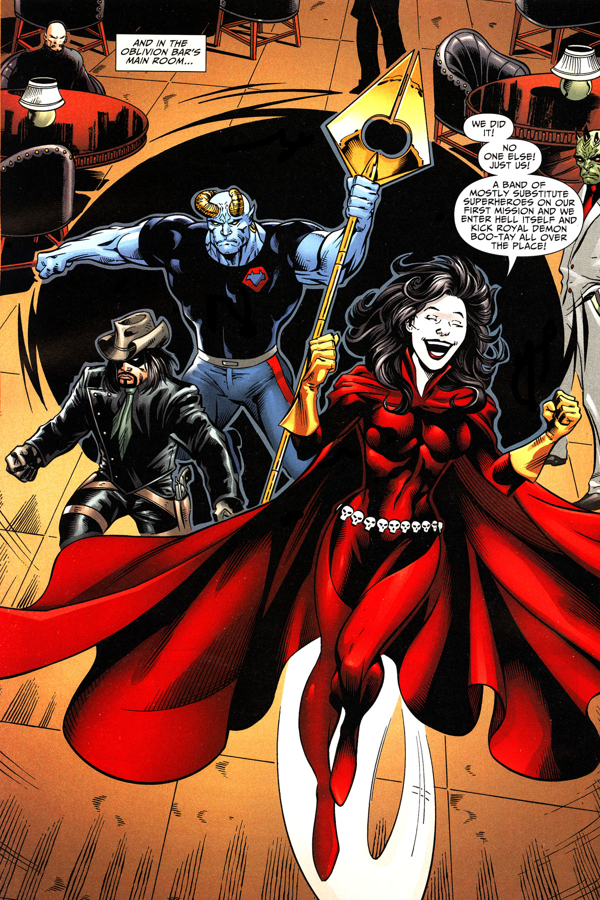 Read online Shadowpact comic -  Issue #11 - 17