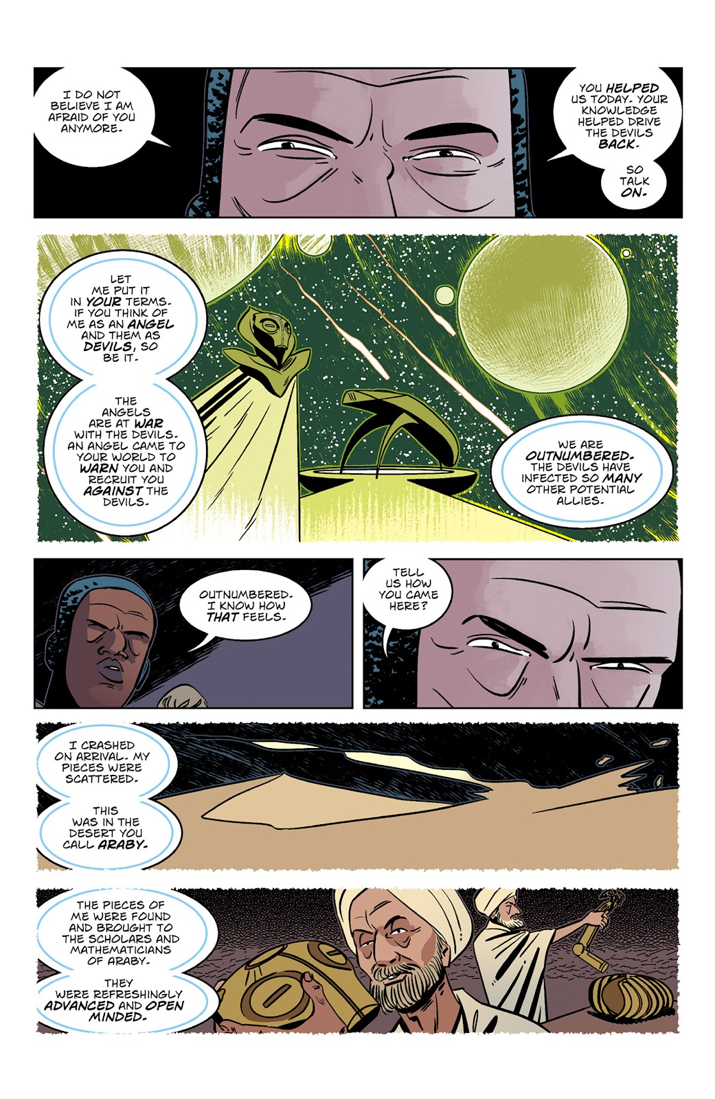Read online Dark Ages comic -  Issue #3 - 18