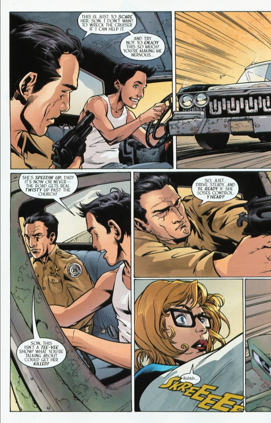 Read online Route 666 comic -  Issue #3 - 22