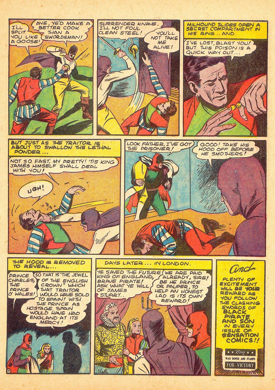 Read online Sensation (Mystery) Comics comic -  Issue #25 - 23