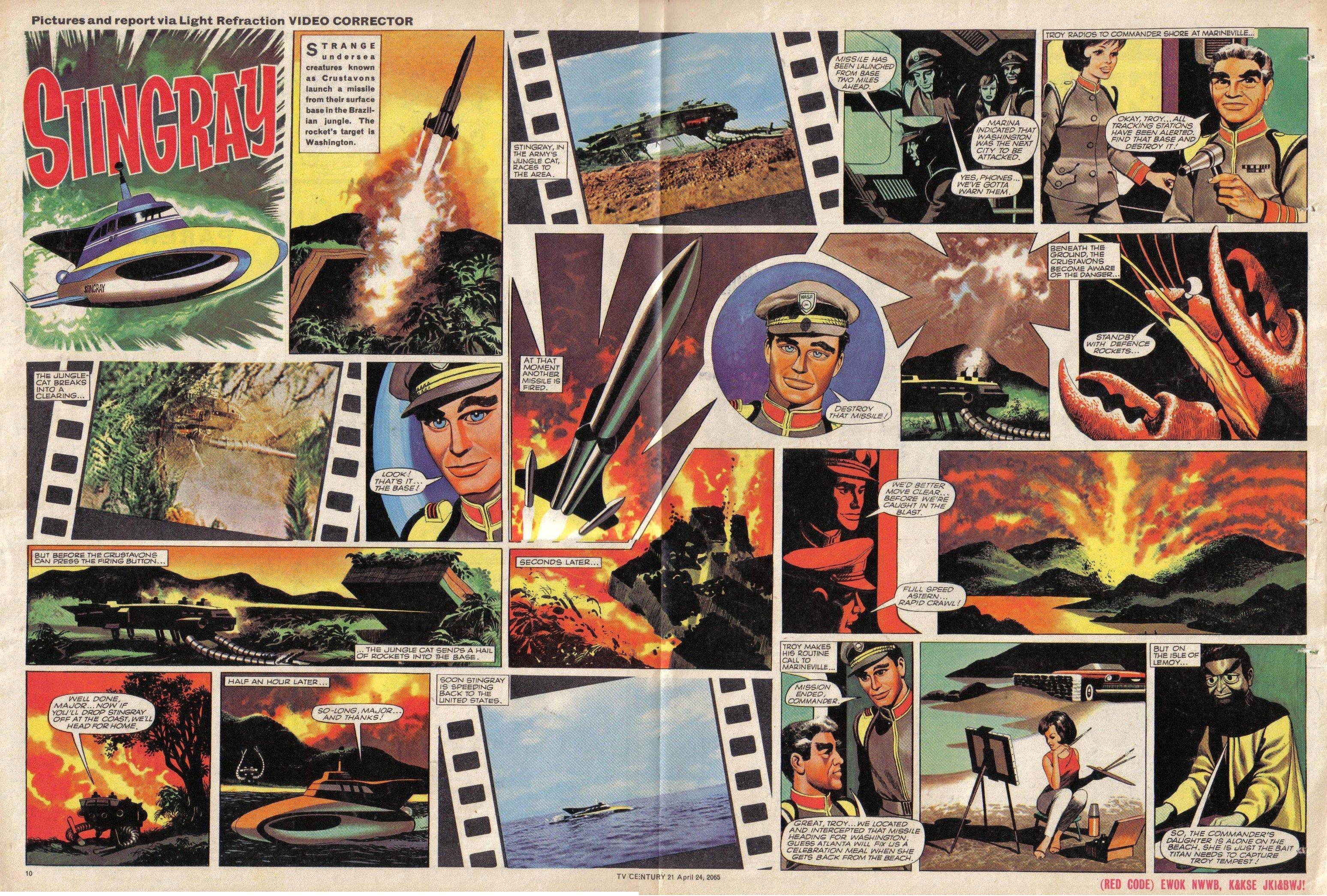 Read online TV Century 21 (TV 21) comic -  Issue #14 - 10