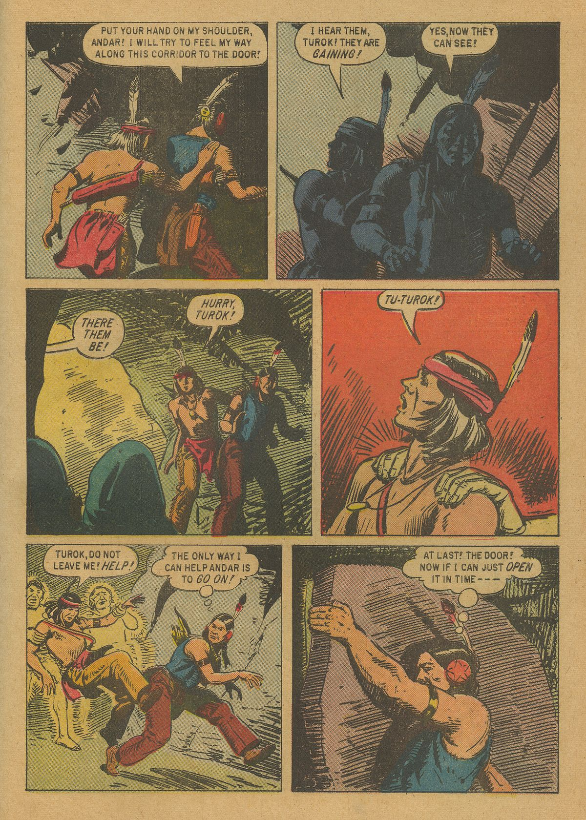 Read online Turok, Son of Stone comic -  Issue #20 - 33