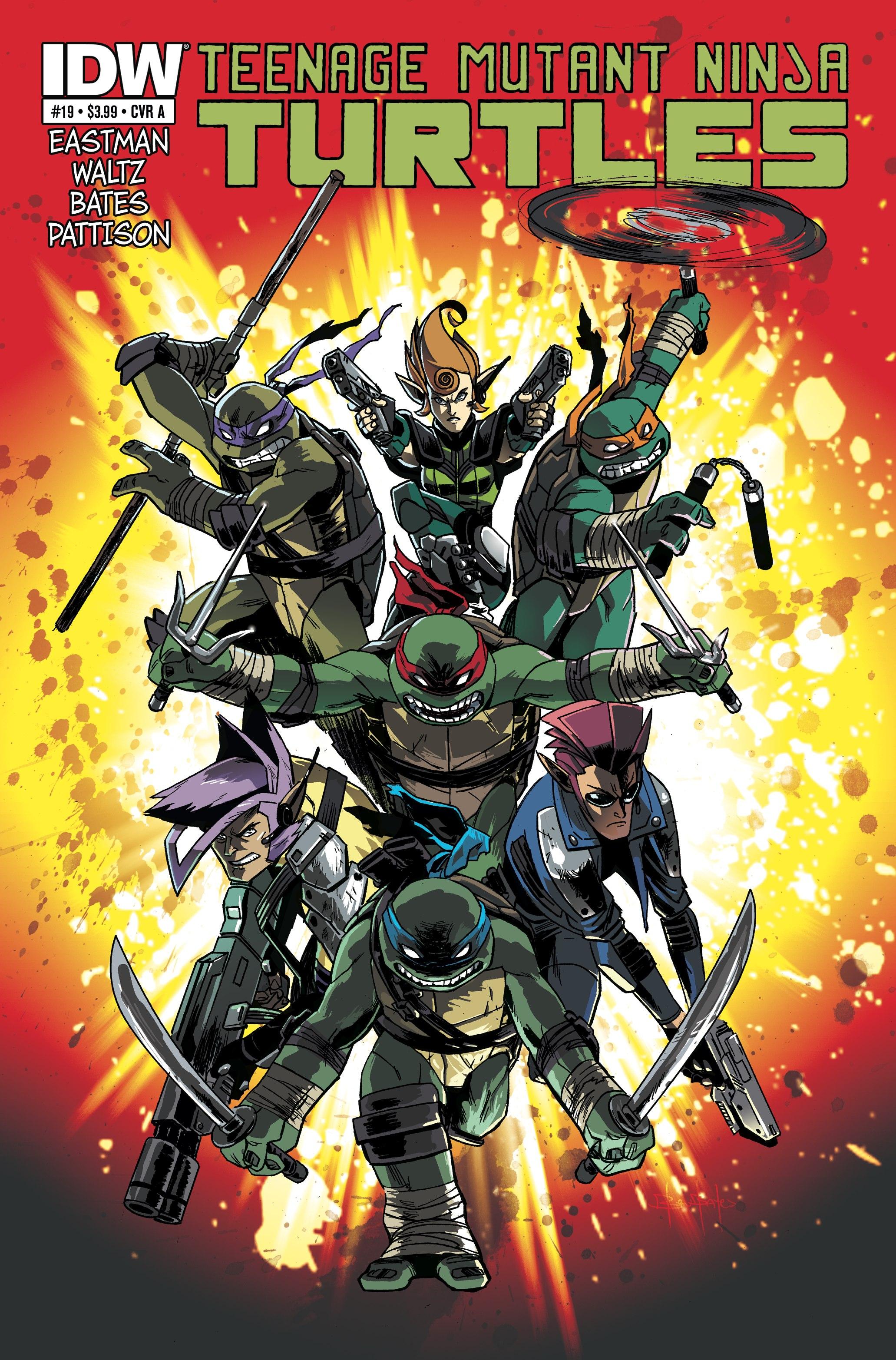 Teenage Mutant Ninja Turtles (2011) 19 Page 1