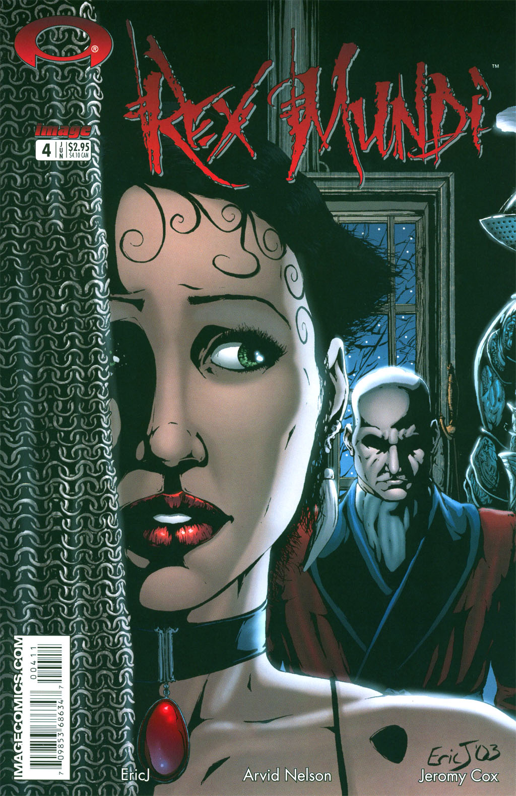 Read online Rex Mundi comic -  Issue #4 - 2