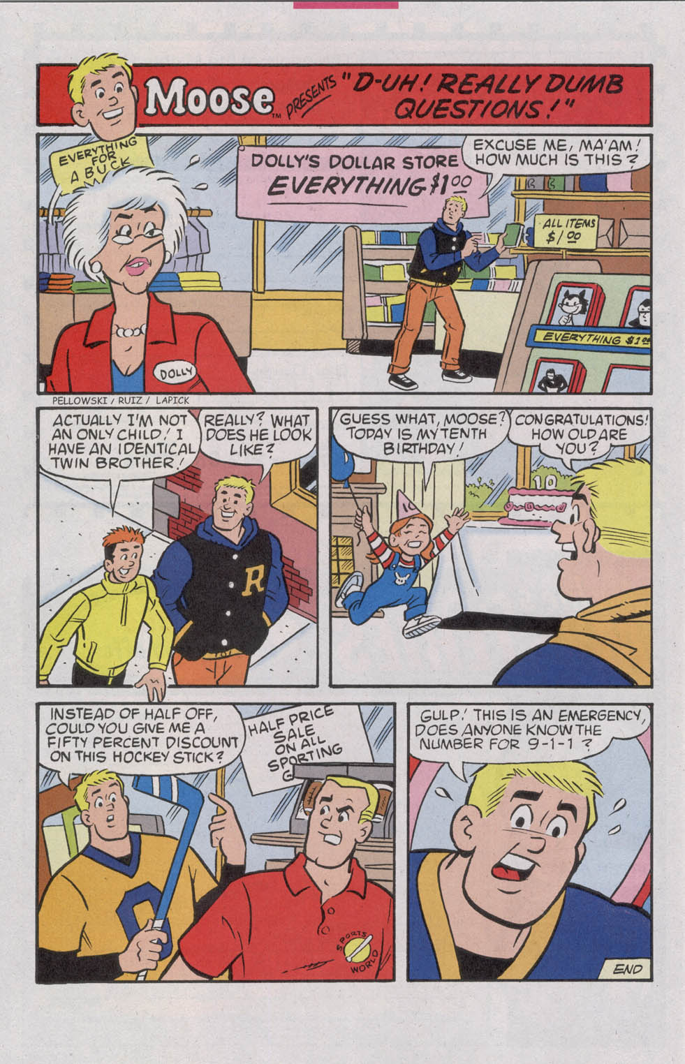 Read online Archie (1960) comic -  Issue #542 - 18